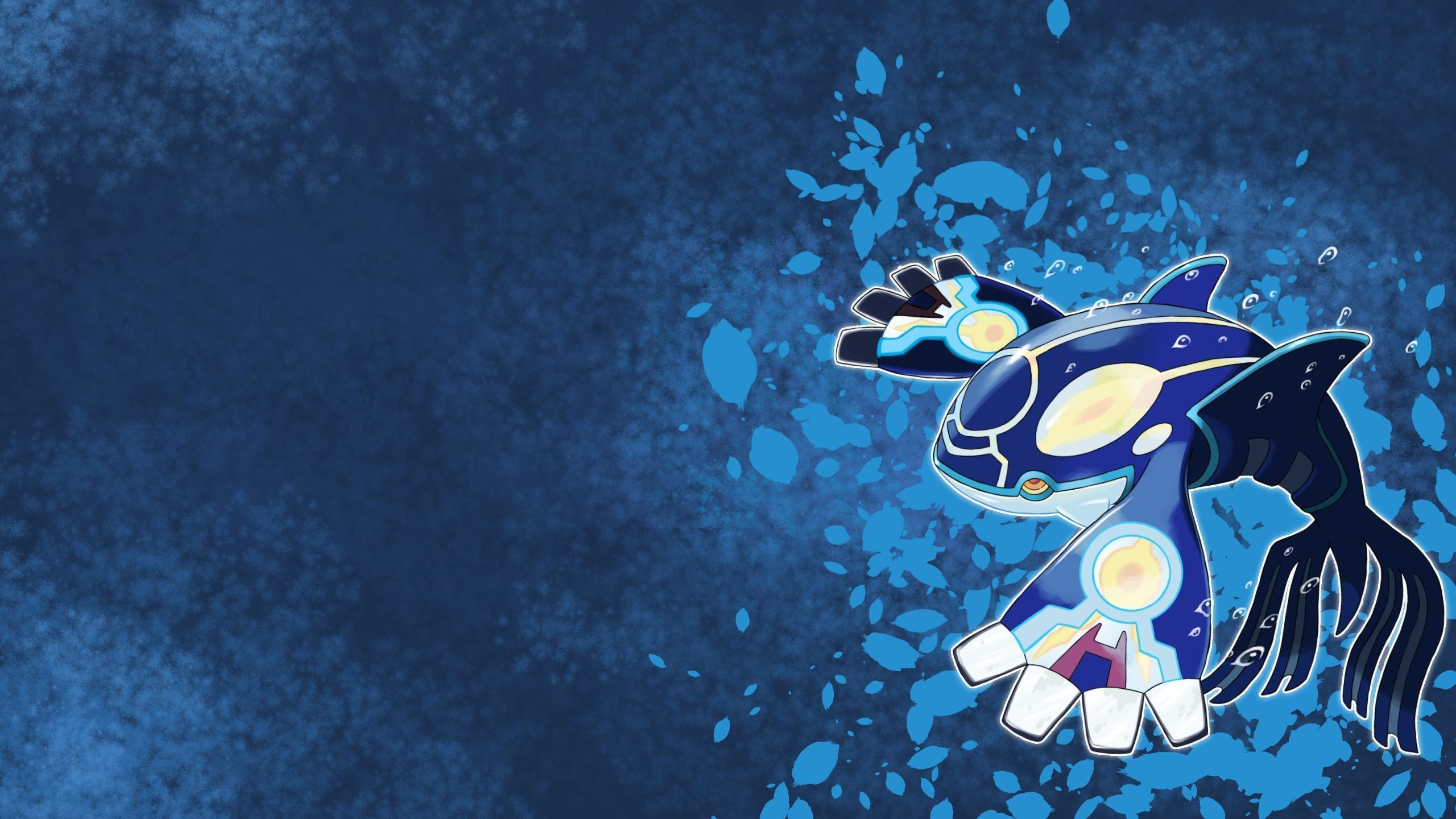 2560x1440 Wallpaper Primal Kyogre by AlouNea on DeviantArt