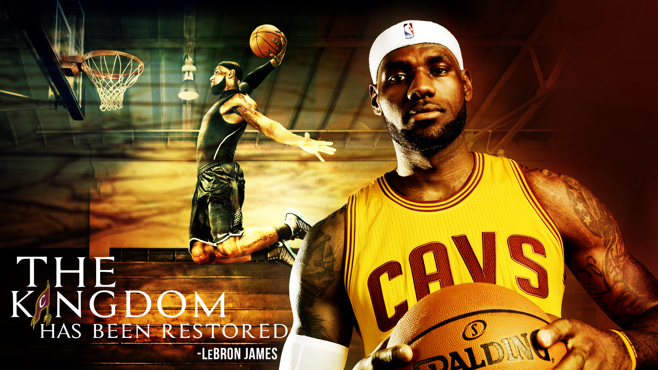 2560x1440 Lebron James Cavs Wallpapers Background