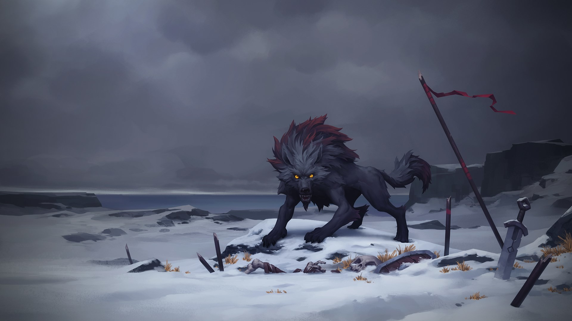 1920x1080 HD Widescreen Wallpaper - northgard