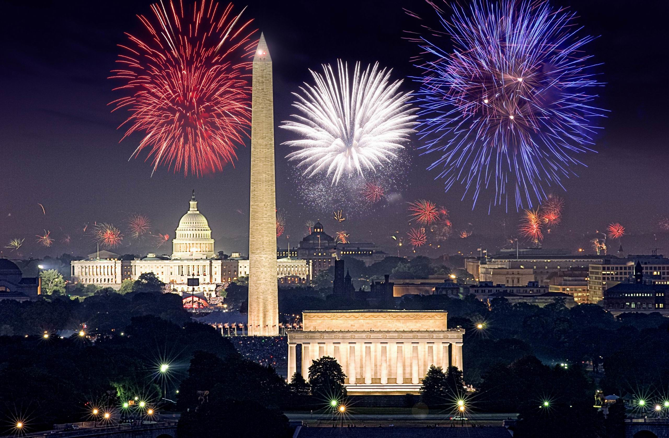 2560x1678 Firework At Washington DC Photo HD Wallpaper For Desktop | Wallsev.com .