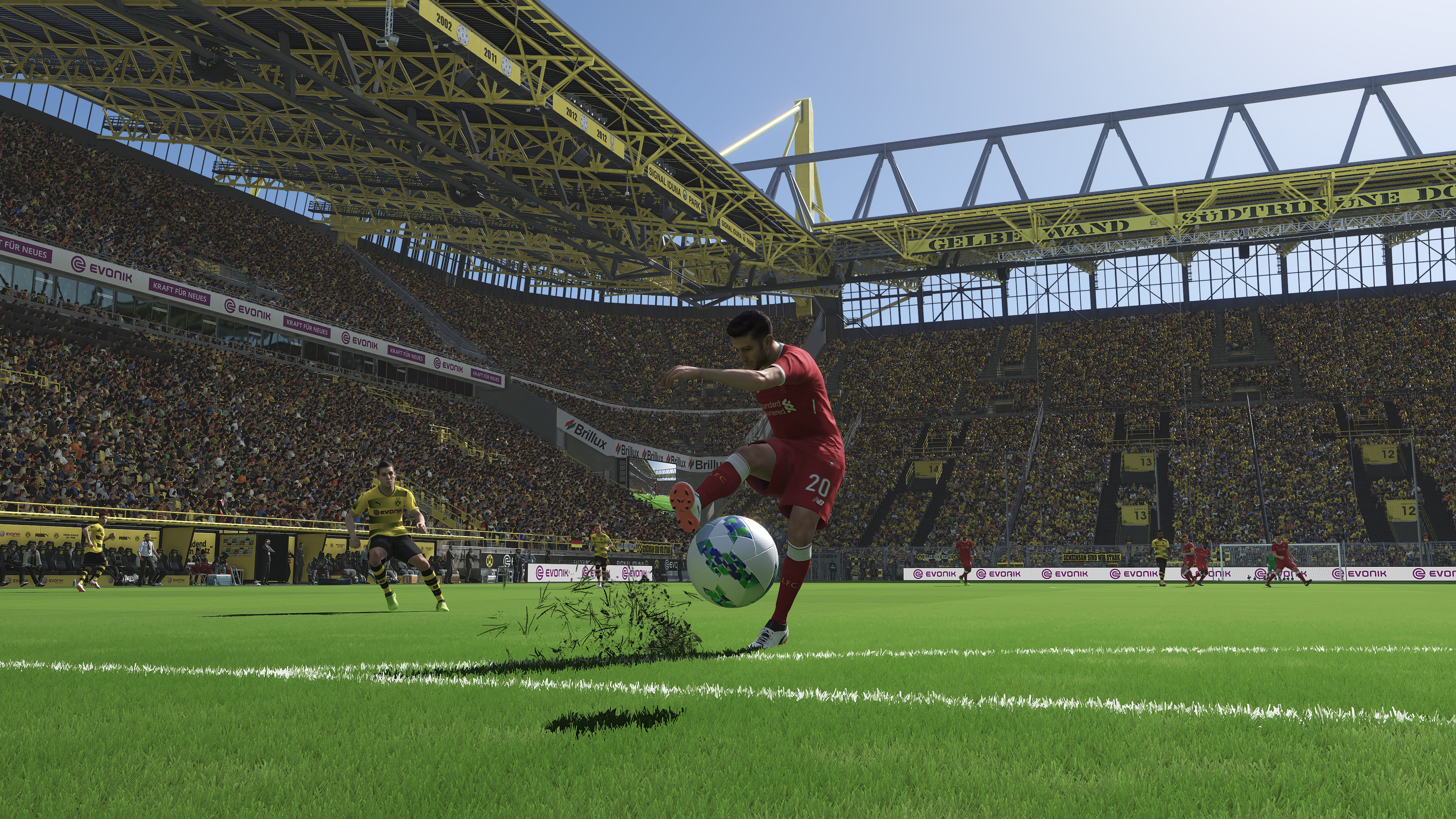 3840x2160 Pro Evolution Soccer 2018 NVIDIA Ansel 4K Screenshot