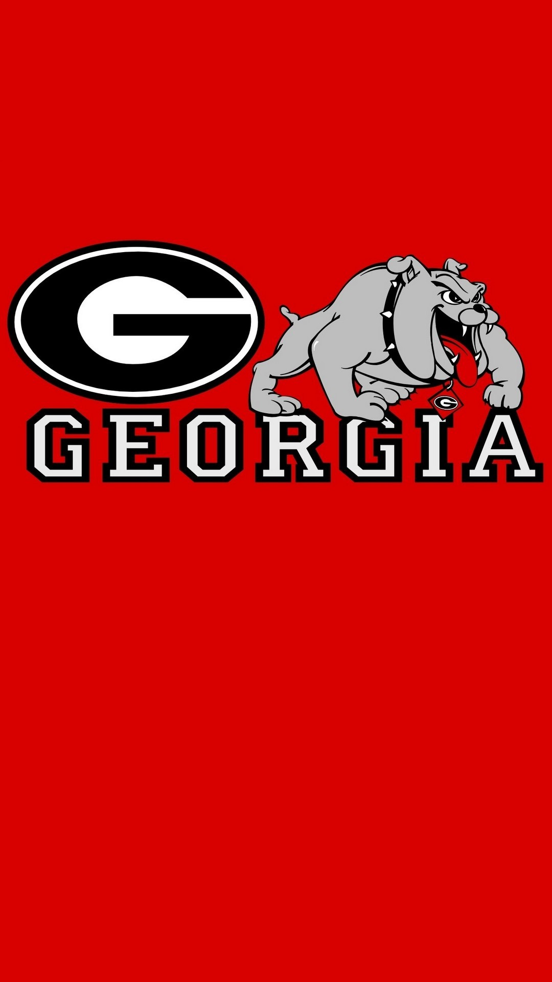 1080x1920 HD Georgia Bulldogs iPhone Wallpaper resolution 1080x1920