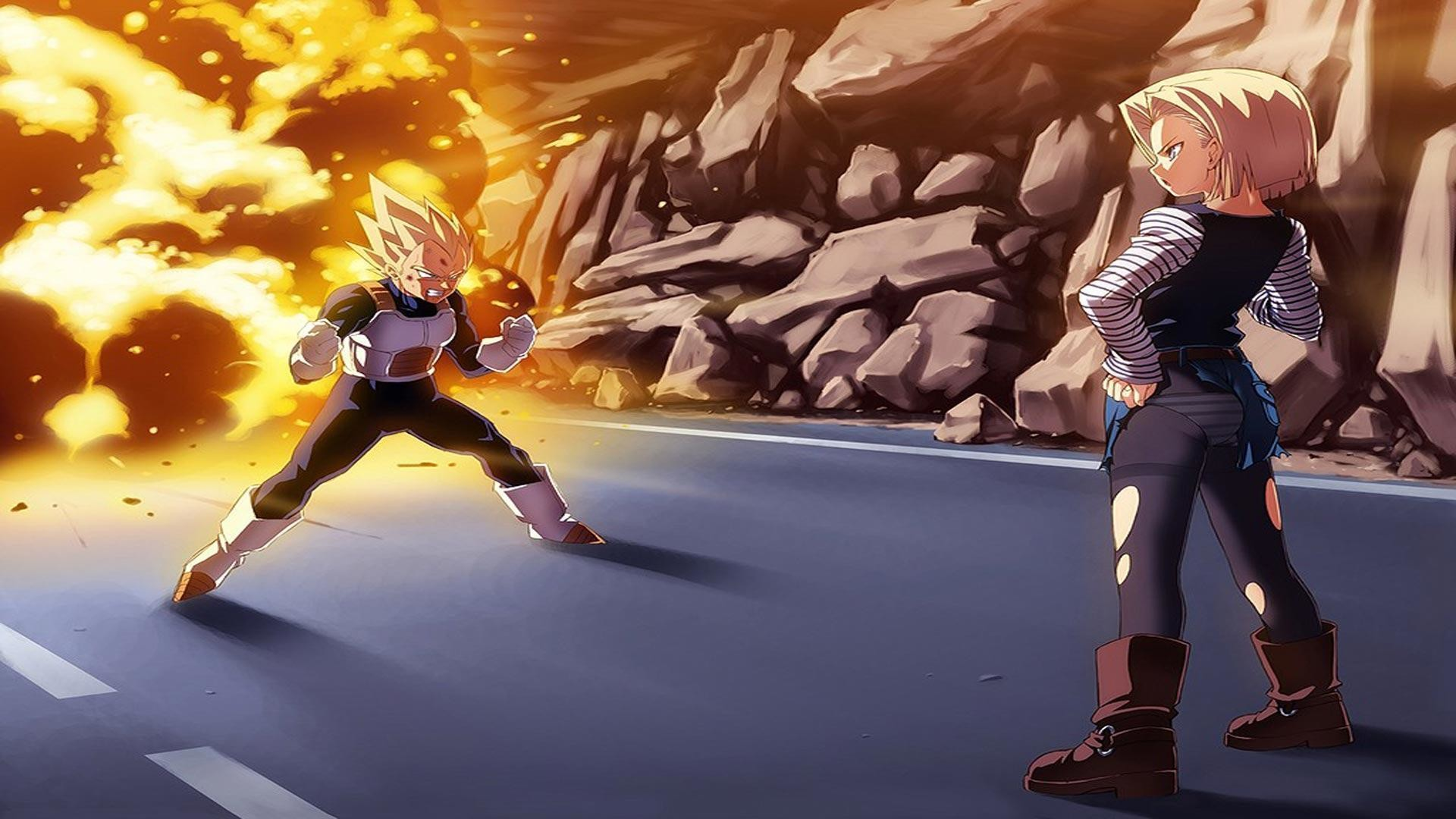android 18 wallpapers 69 images