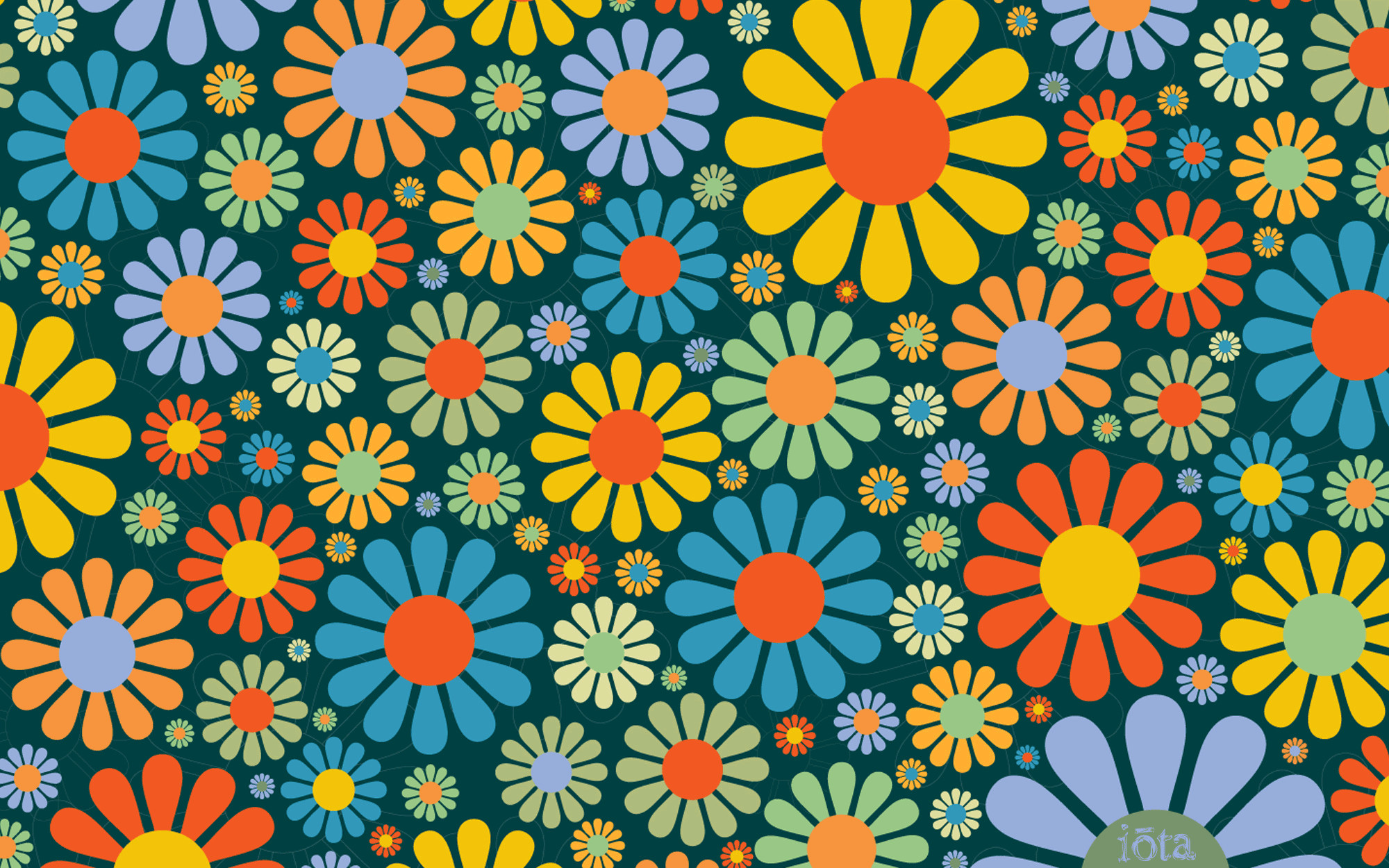 2000x1250 Flower Power Wallpapers
