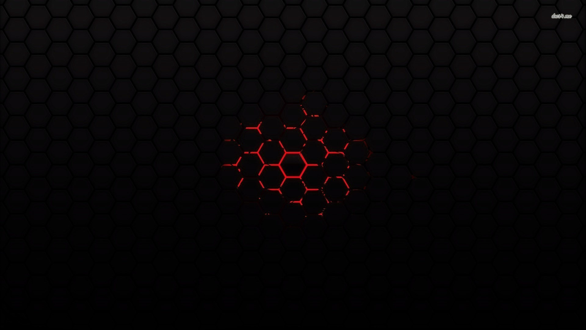 1920x1080 Red On Black Abstract Wallpaper - Wallpapers Magz