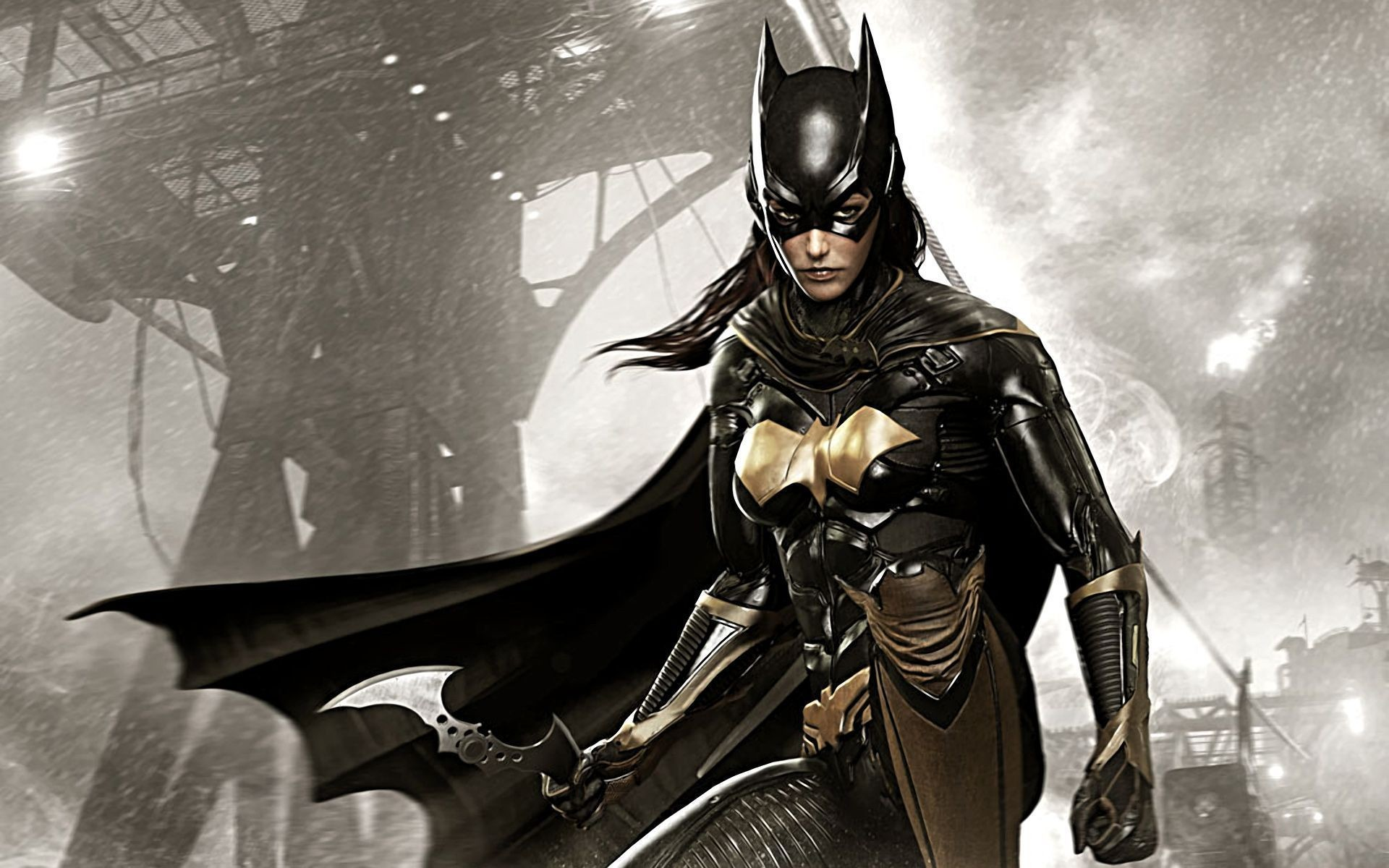 1920x1200 Batgirl in Batman Arkham Knight Wallpaper