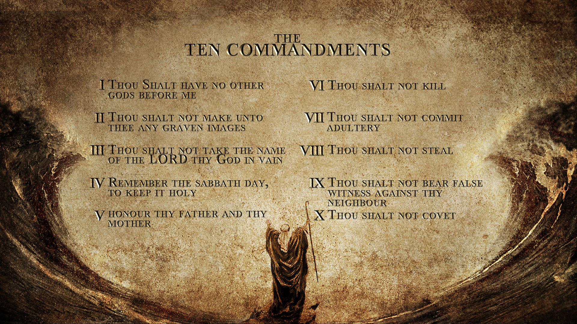 1920x1080 commandments, study, wallpapers, wallpaper, computer, bible, design .