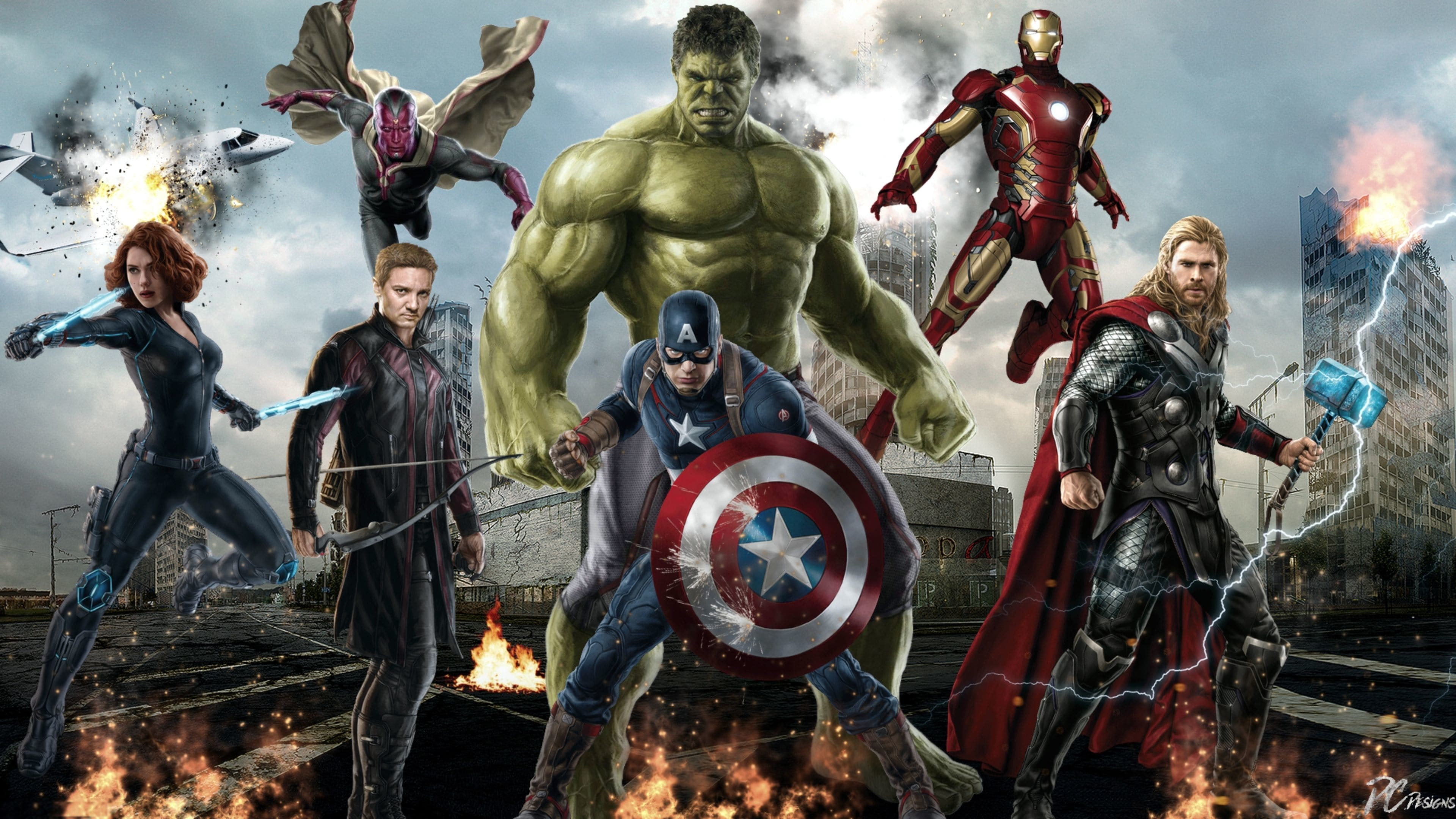 3840x2160 Avengers Wallpapers HD - Wallpaper Cave ...