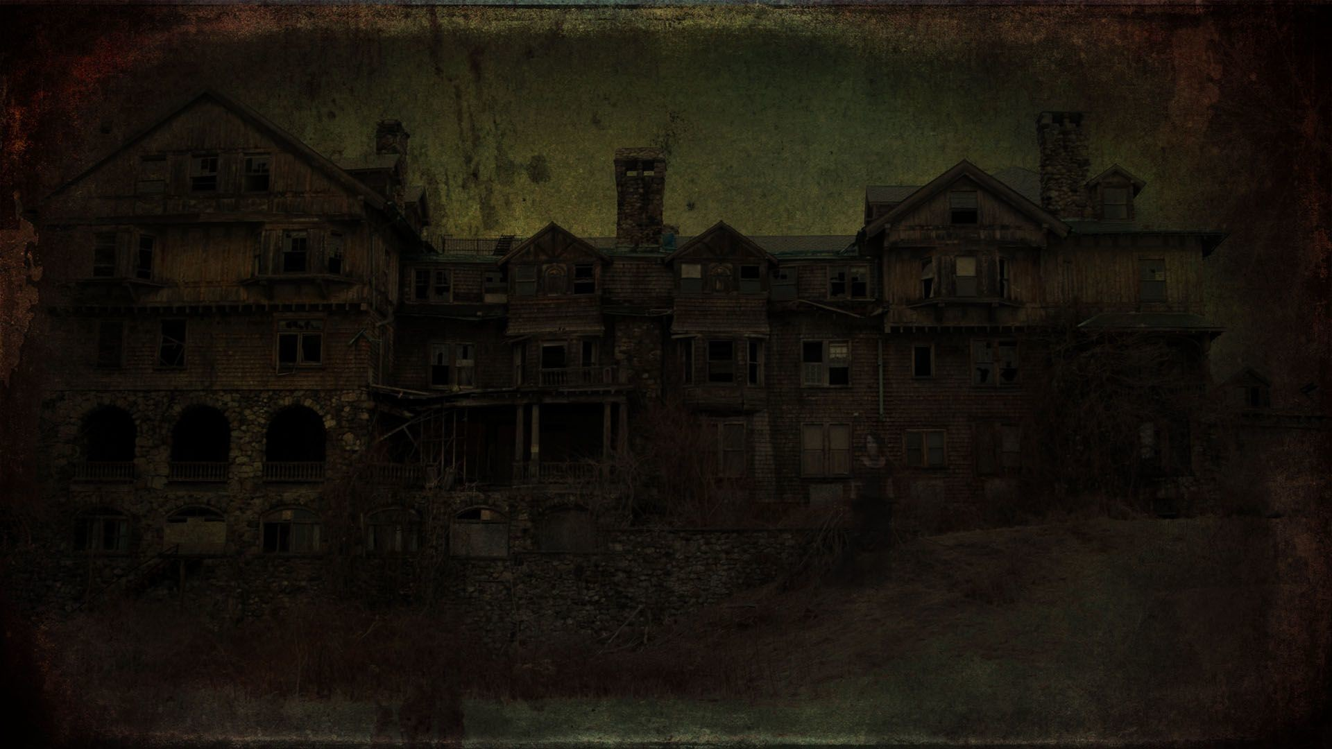 1920x1080 haunted house backdrop | house haunted wallpapers paper