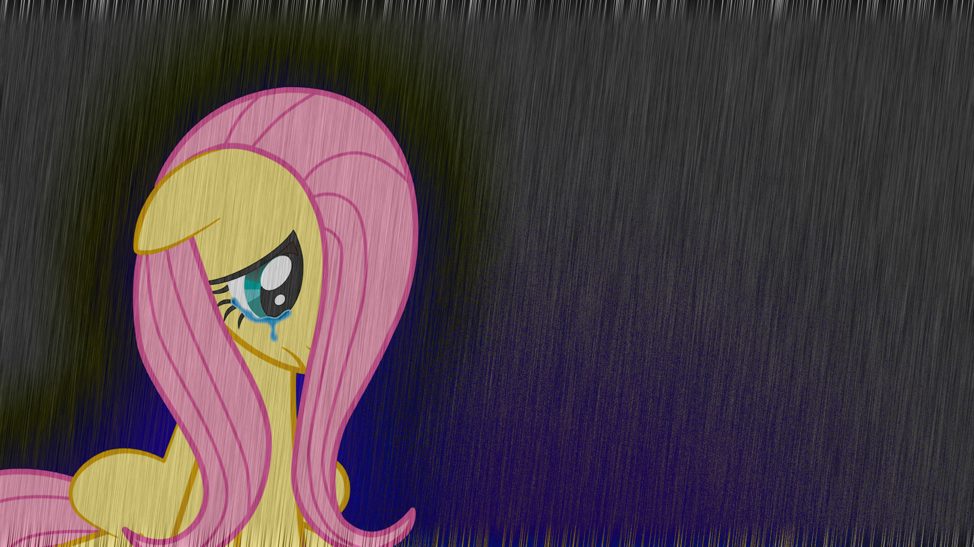 1920x1080 Sad Fluttershy - Wallpaper by NightmareDashy Sad Fluttershy - Wallpaper by  NightmareDashy