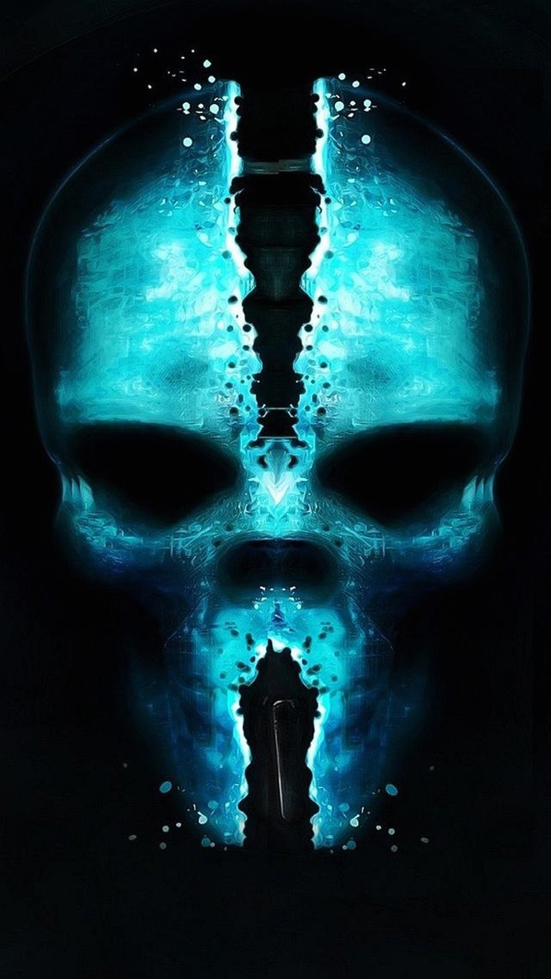 Badass skull wallpaper 68 images for Sfondi per cellulare gratis