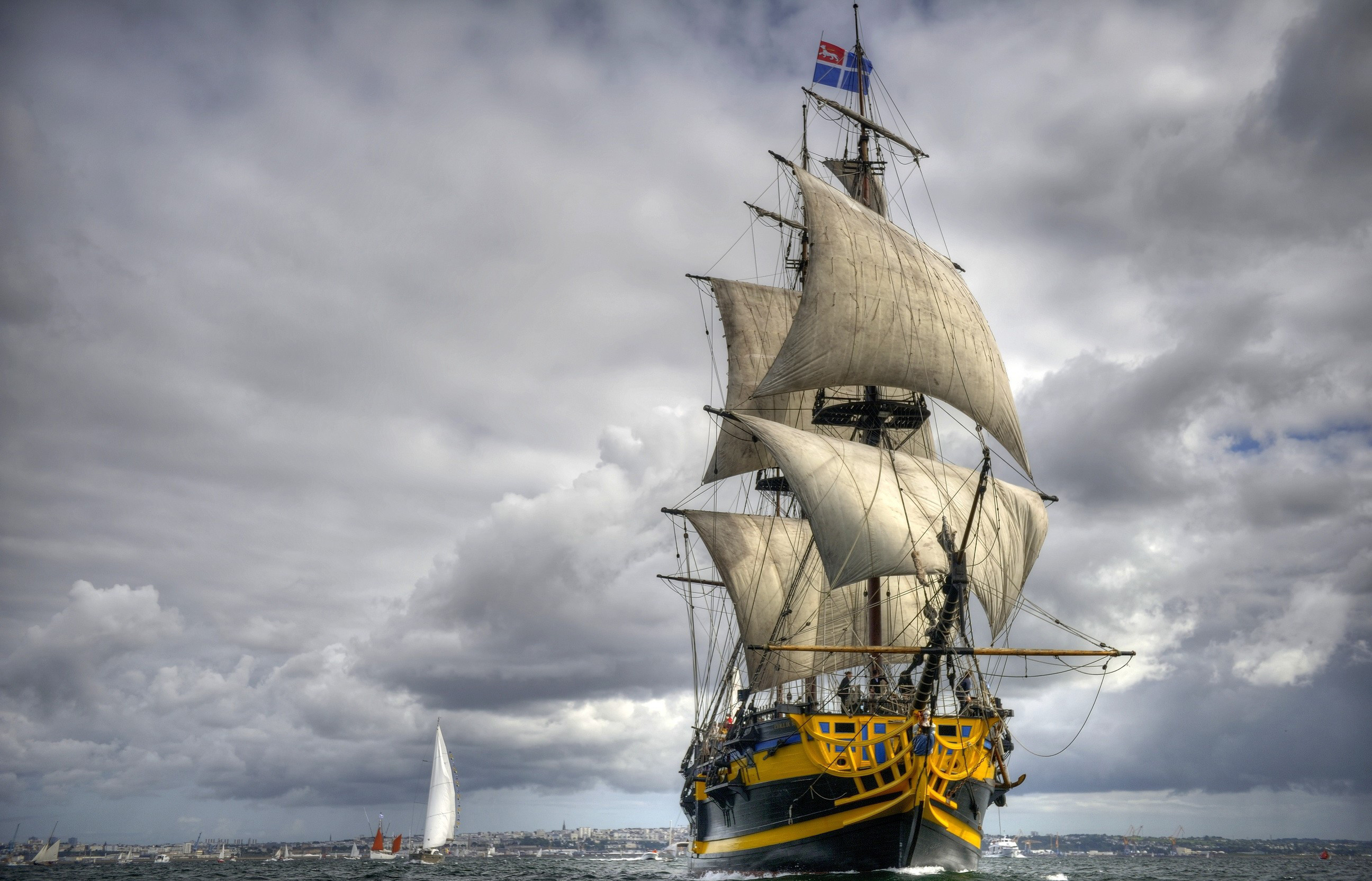 2592x1665 HD Wallpaper | Background ID:370125.  Vehicles Sailing Ship. 12  Like. Favorite