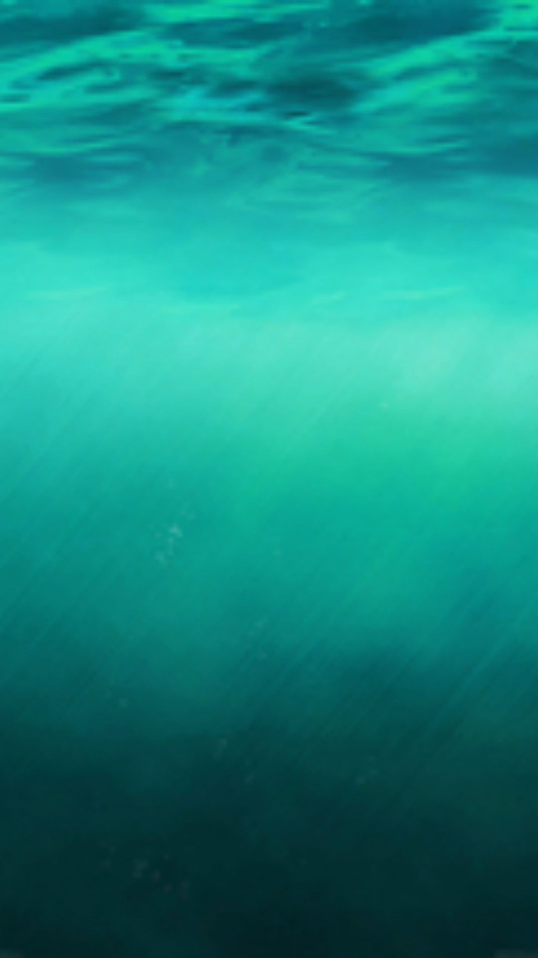 1080x1920 iOS8 Ocean Undersea Pure Clear Background iPhone 8 wallpaper