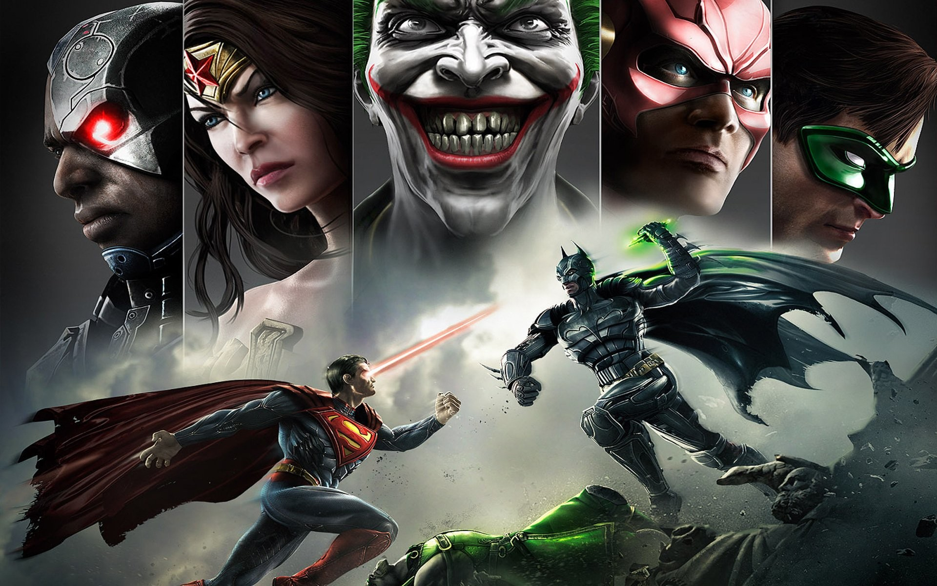 Injustice Gods Among Us Wallpapers 85 Images