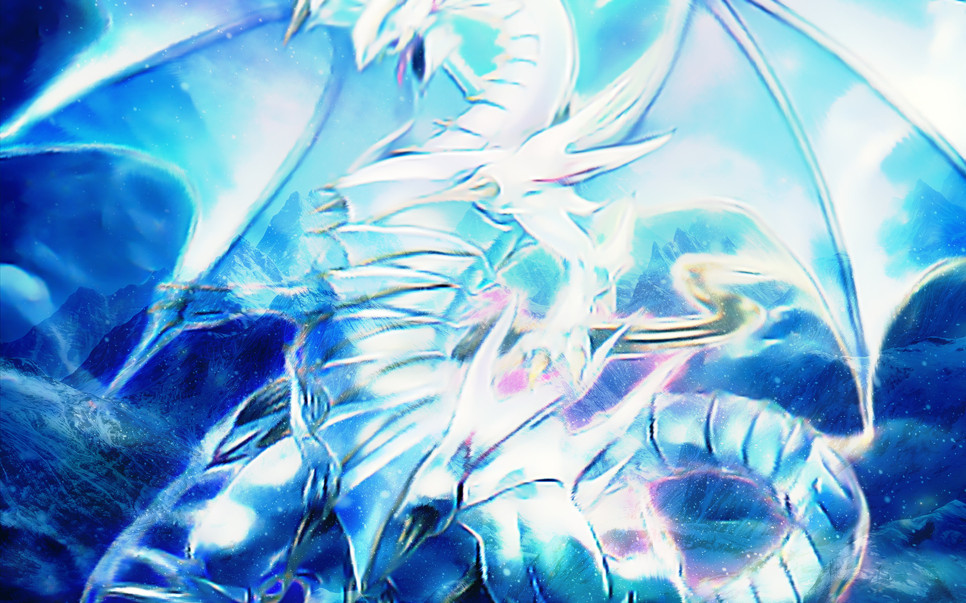 Blue Eyes Ultimate Dragon Wallpaper 58 Images
