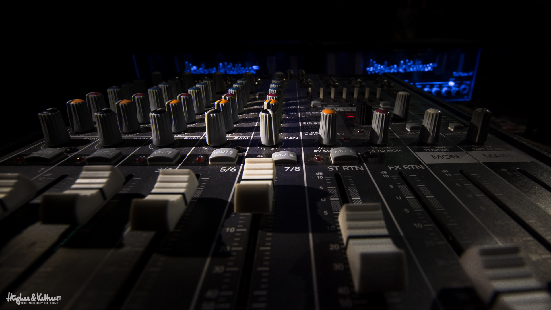 1920x1080 We've come a long way since the swinging 60s. A mixing console like