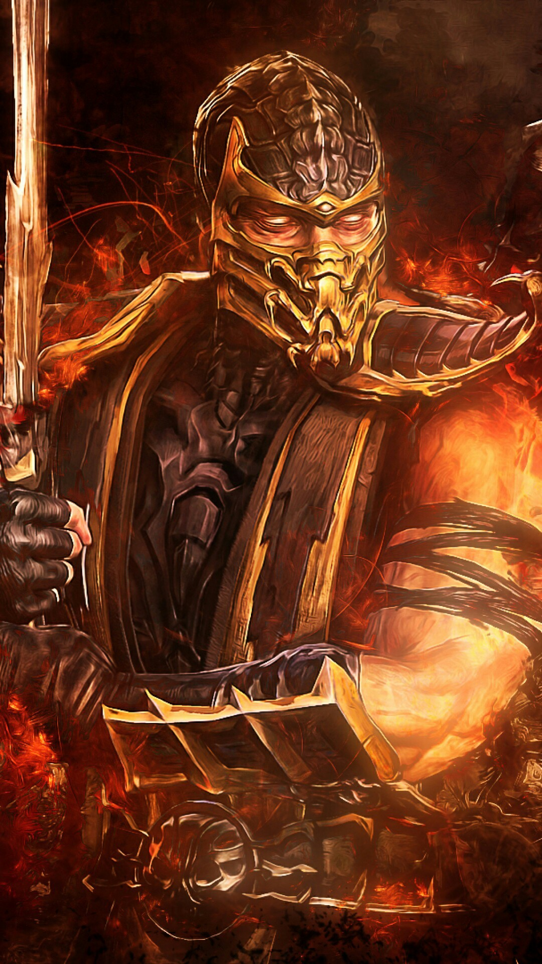 Scorpion iphone wallpaper 74 images - Mortal kombat scorpion wallpaper ...