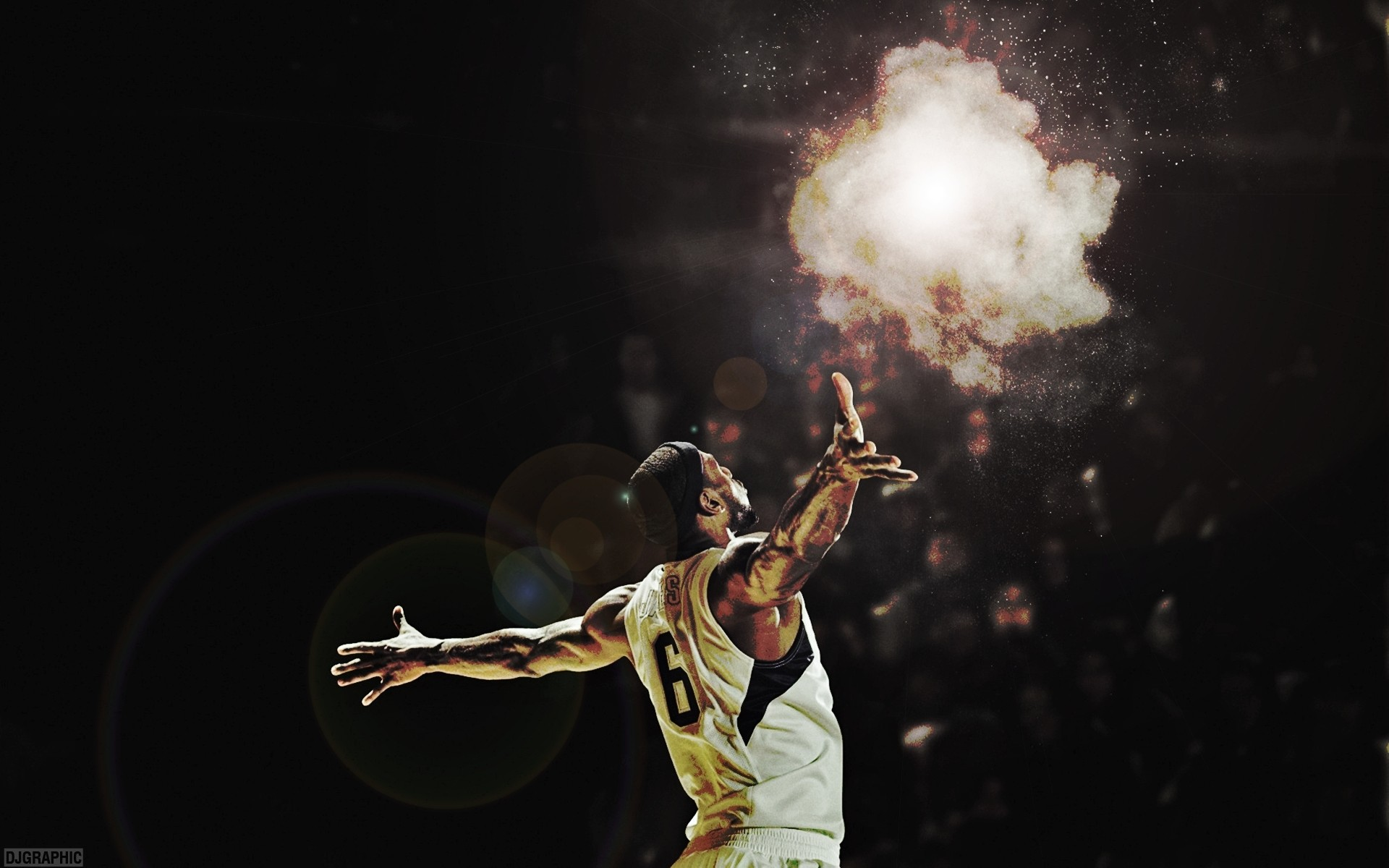 1920x1200 Nba basketball lebron james miami heat wallpaper |  | 85349 |  WallpaperUP