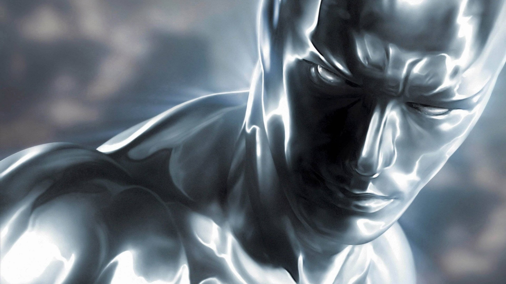 1920x1080 Preview wallpaper silver surfer, norrin radd, surfer, fantastic 4, bald,  silver
