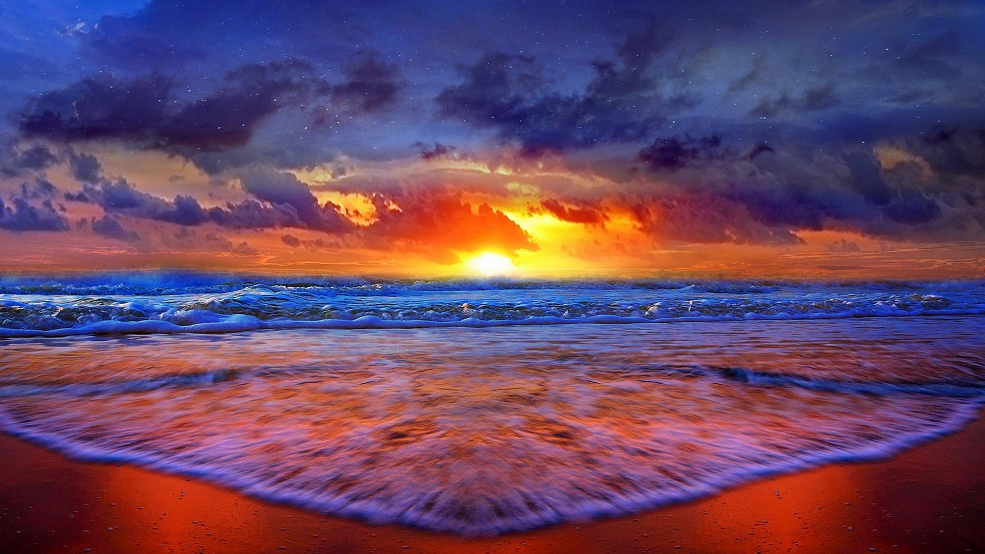 1920x1080 7 Beautiful Sunset Wallpaper HD7 600x338