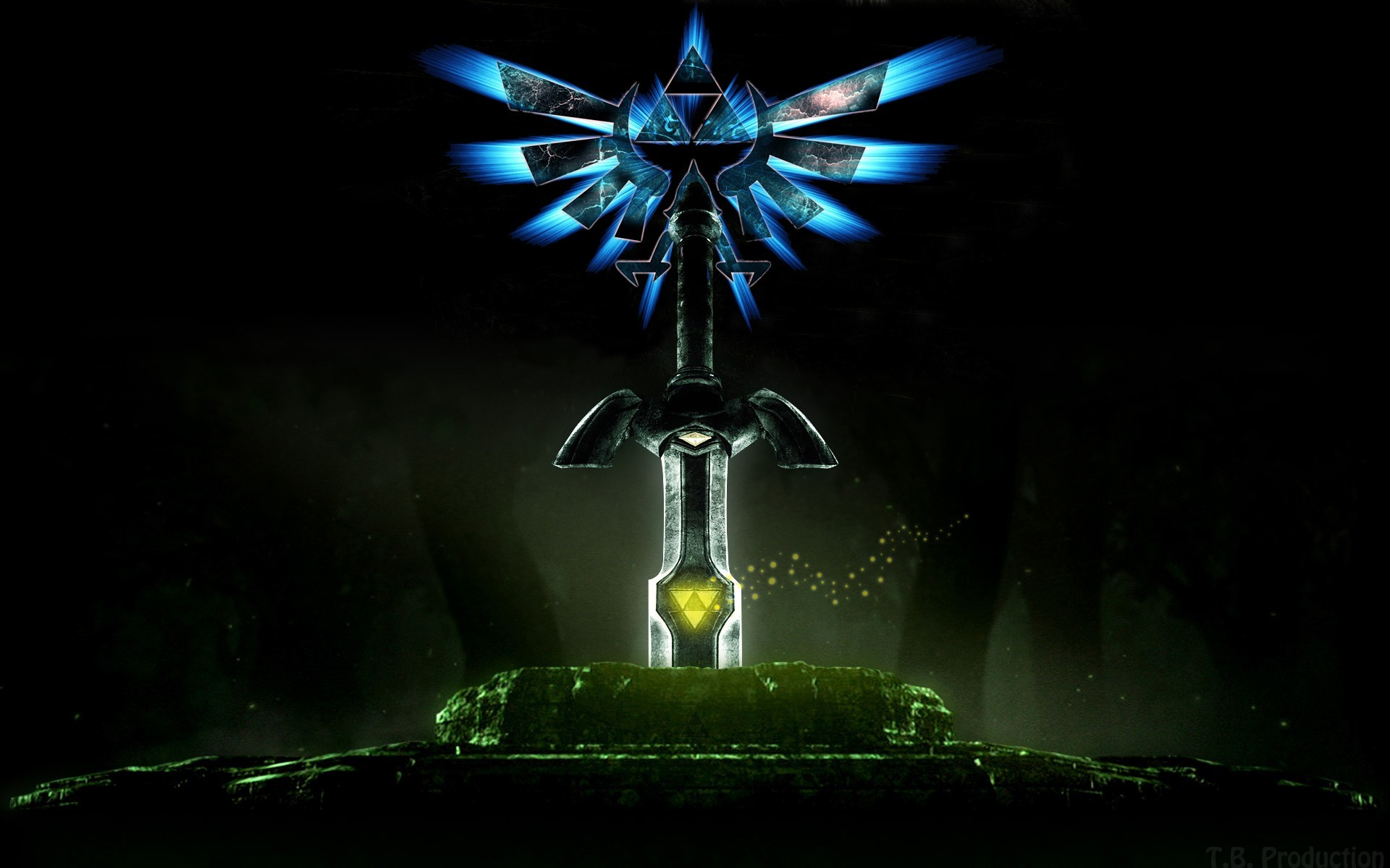 1920x1200 Triforce the legend of zelda wallpaper  14462