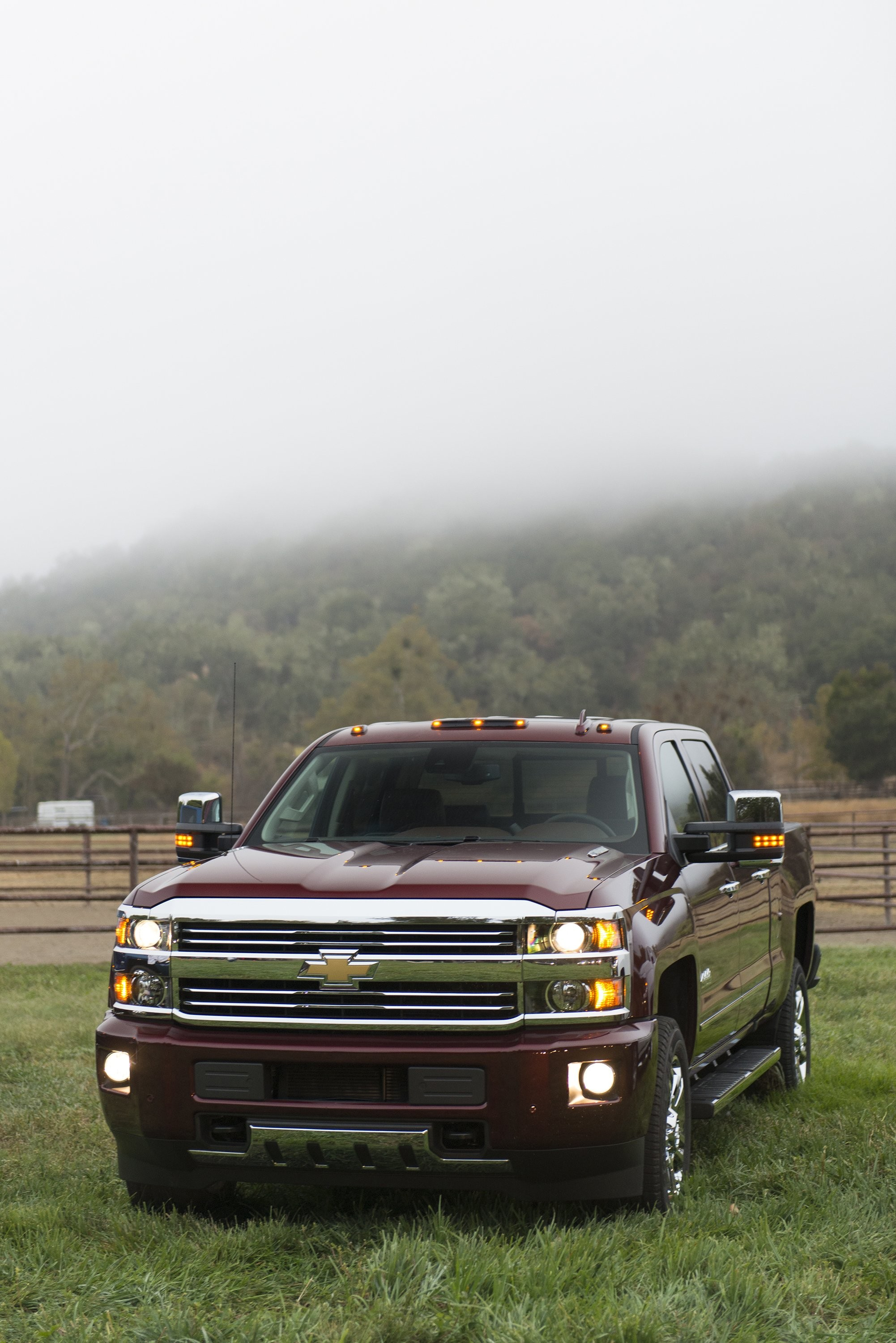 2002x3000 2016 Chevrolet Silverado 2500 H D High Country Crew Cab Pickup Wallpaper