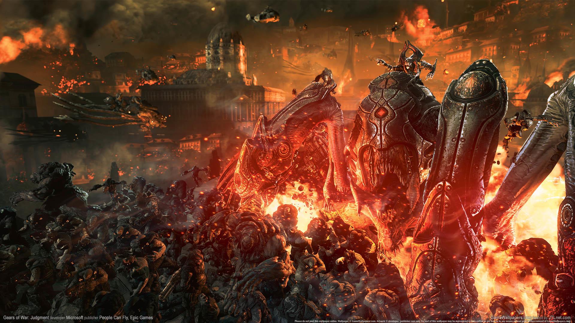 Gears Of Wars 3 Wallpaper: Gears Of War Judgement Wallpaper (74+ Images