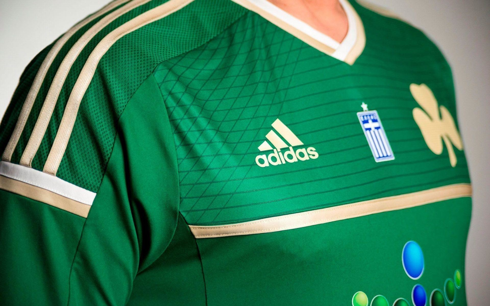 1920x1200  Panathinaikos Jersey 2014-2015 Adidas Home Kit Wallpaper Wide or .