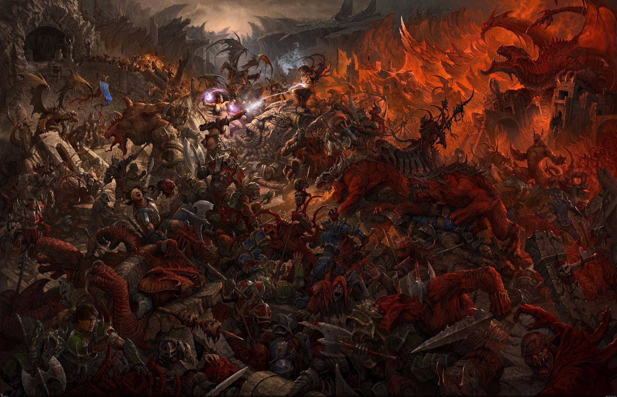 Epic battle wallpaper hd