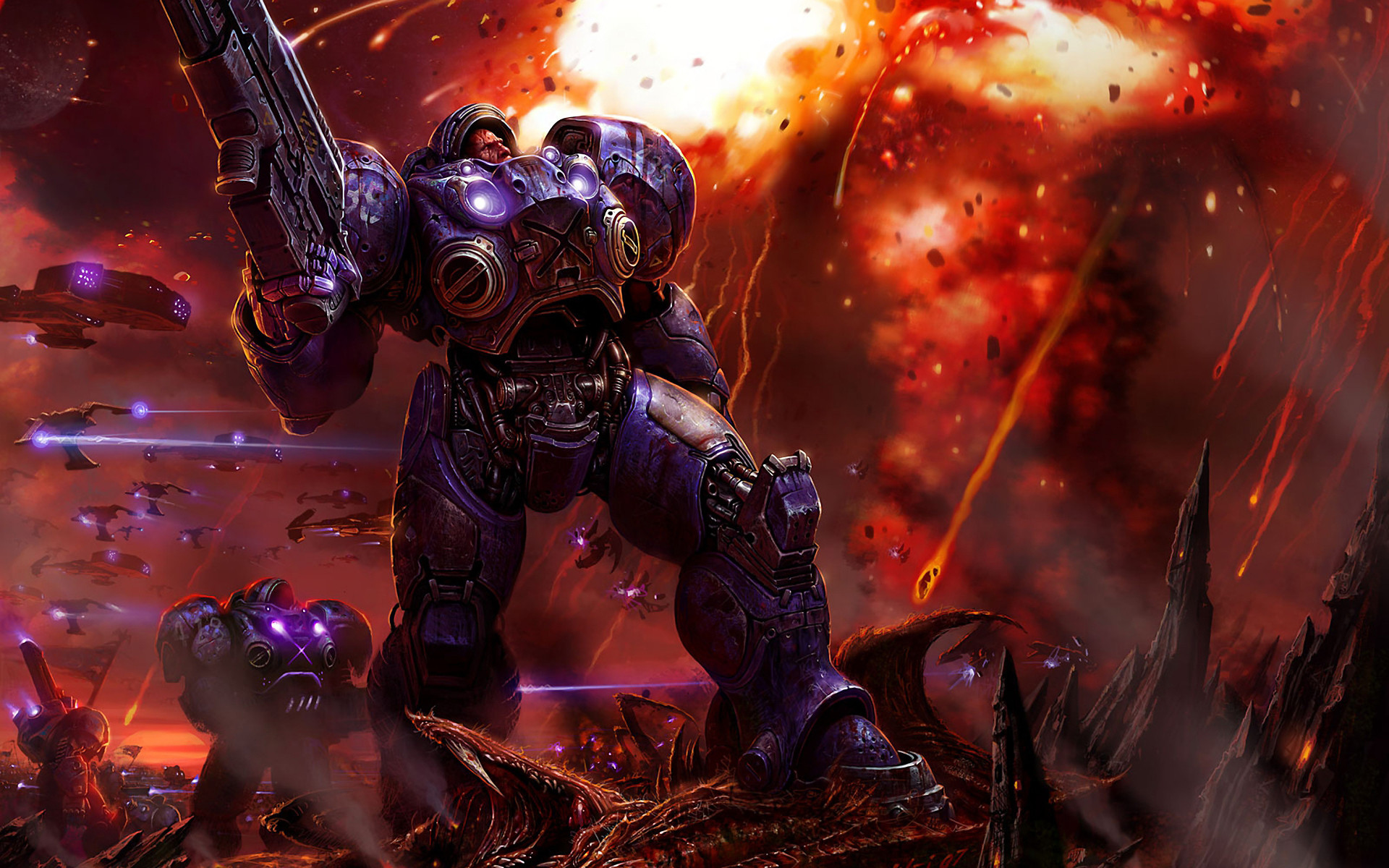 Starcraft II Wallpapers HD / Desktop and Mobile Backgrounds