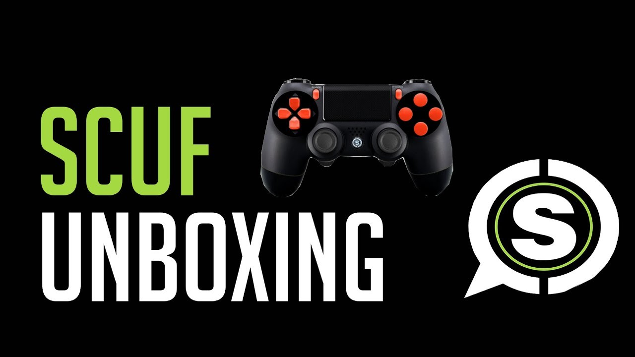 1920x1080 Scuf unboxing and gaming setup!!!