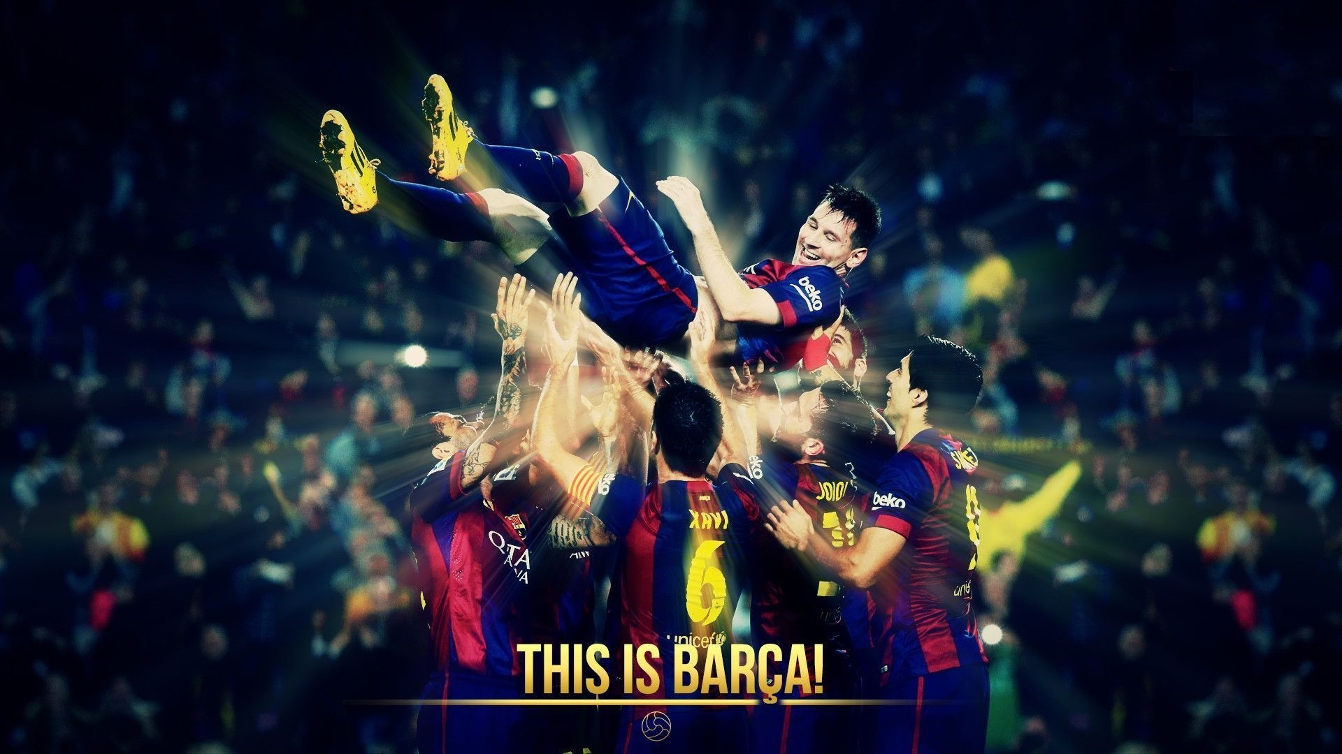 1920x1080 Free Download FC Barcelona Wallpapers HD.