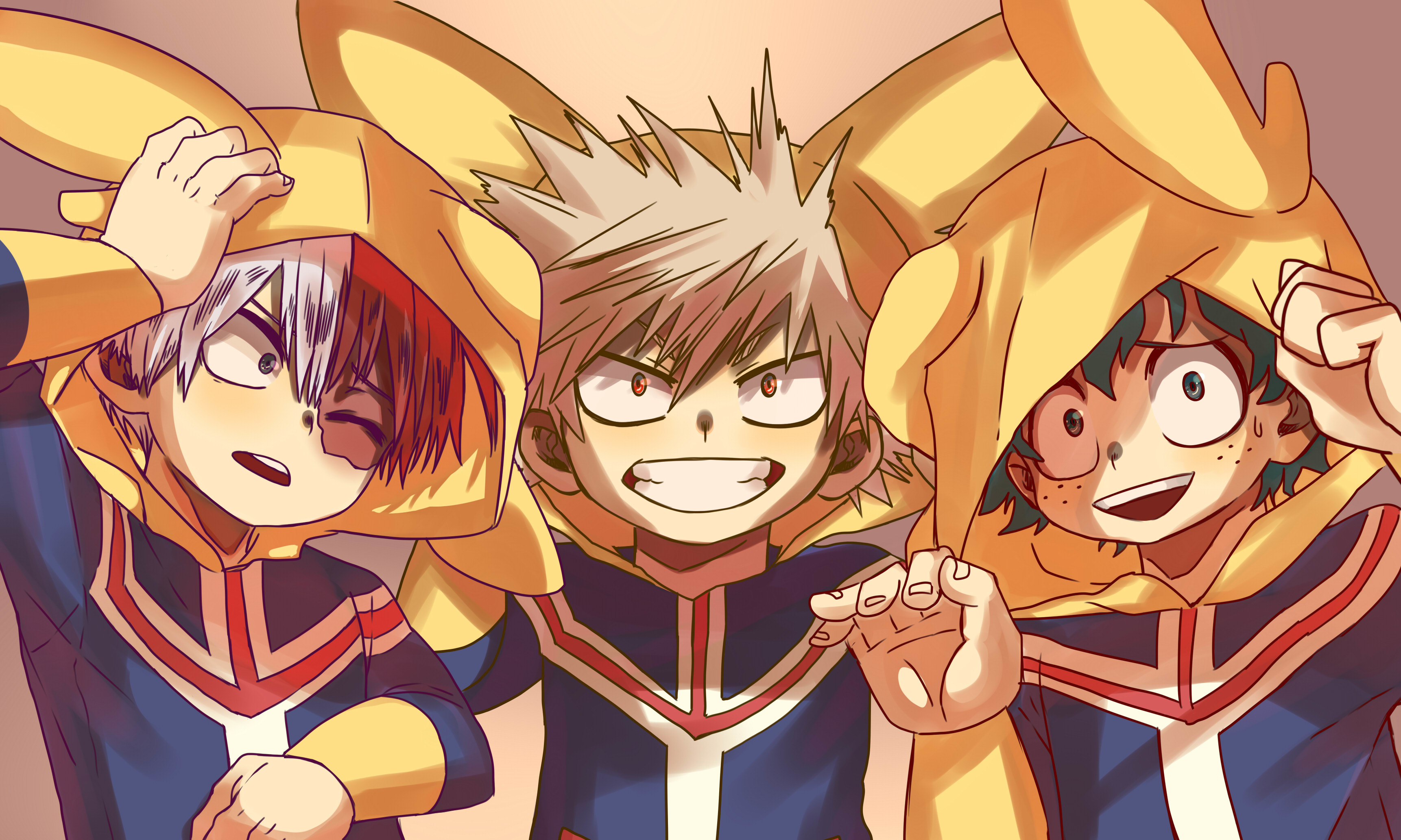 0902c147d77 1920x1200 Anime - My Hero Academia Izuku Midoriya Katsuki Bakugou Ochako  Uraraka Shouto Todoroki Tsuyu Asui