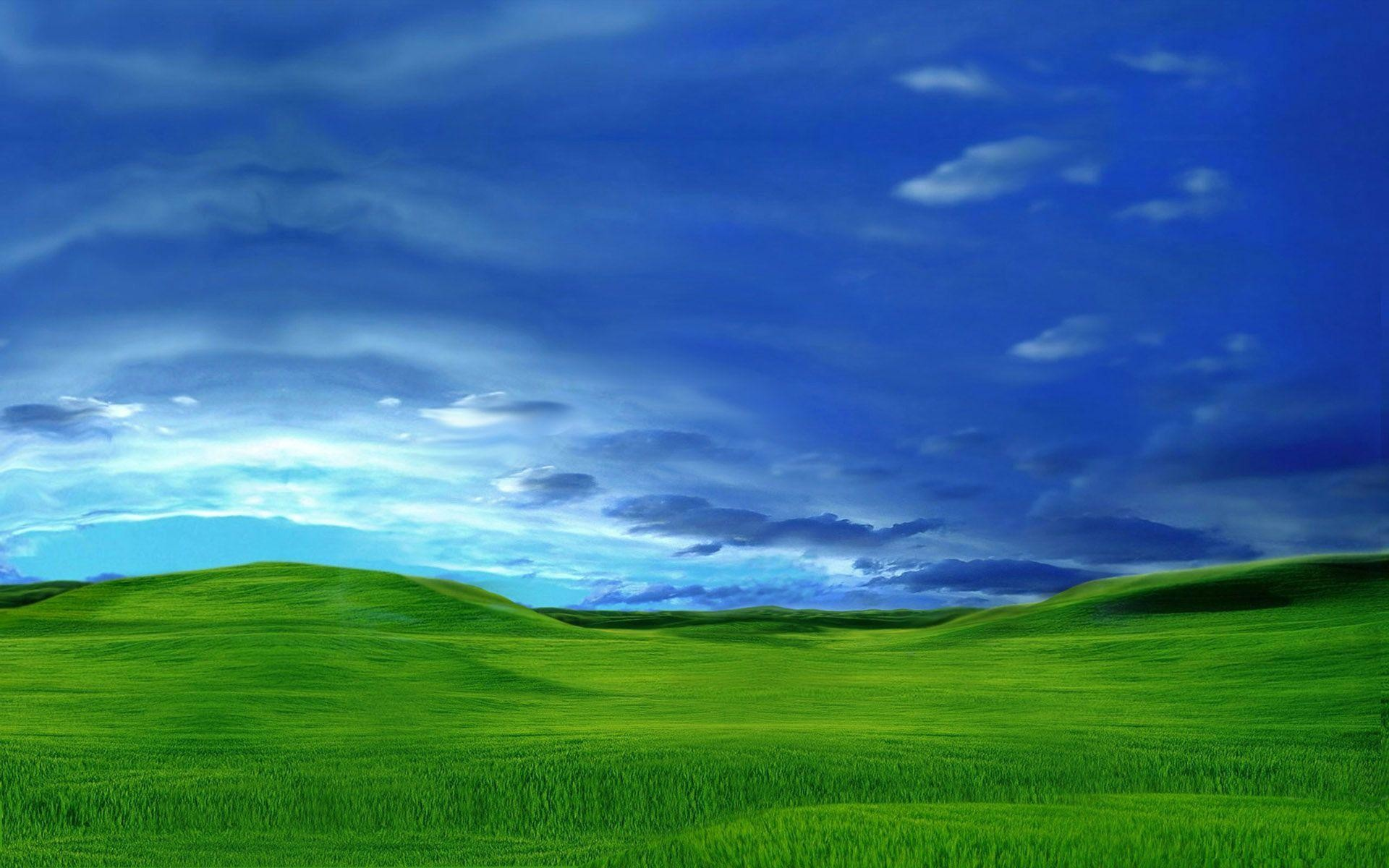 1920x1200 In Windows XP style / 1920 x 1200 / Landscape / Photography .