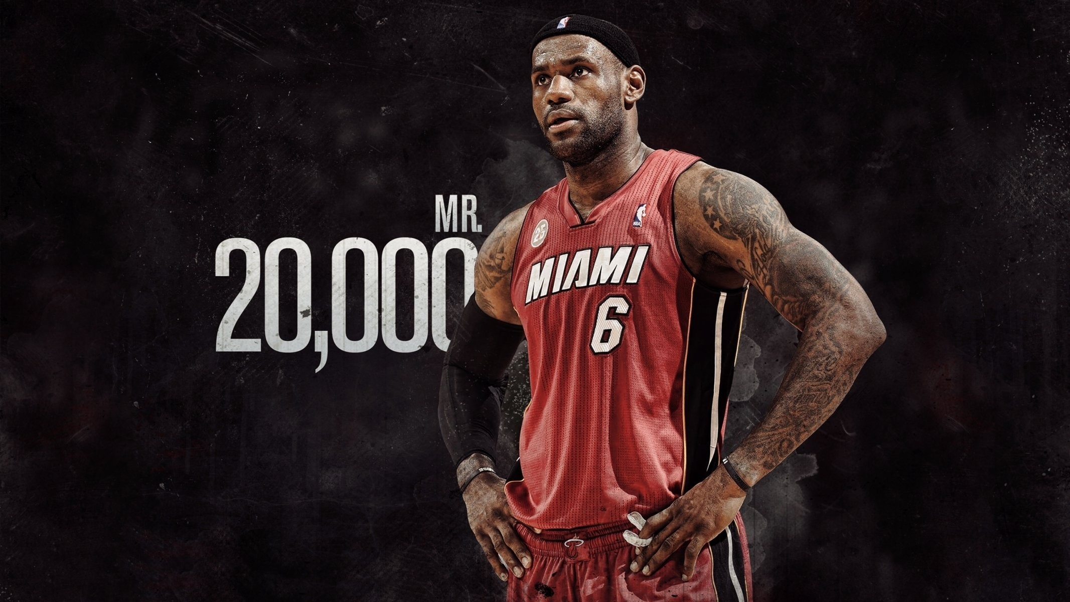 2133x1200 lebron james nba basketball tattoos miami heat