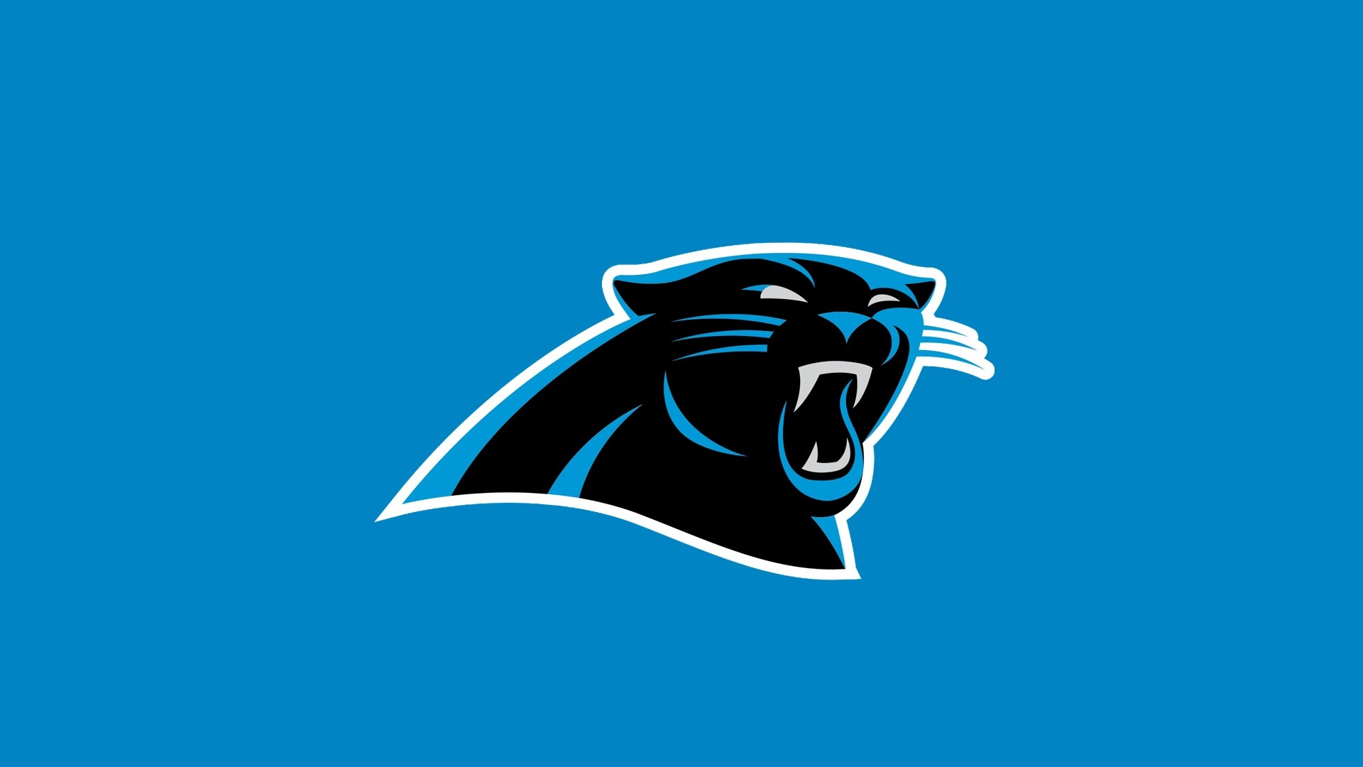 1920x1080 Preview wallpaper carolina panthers, american football, logo