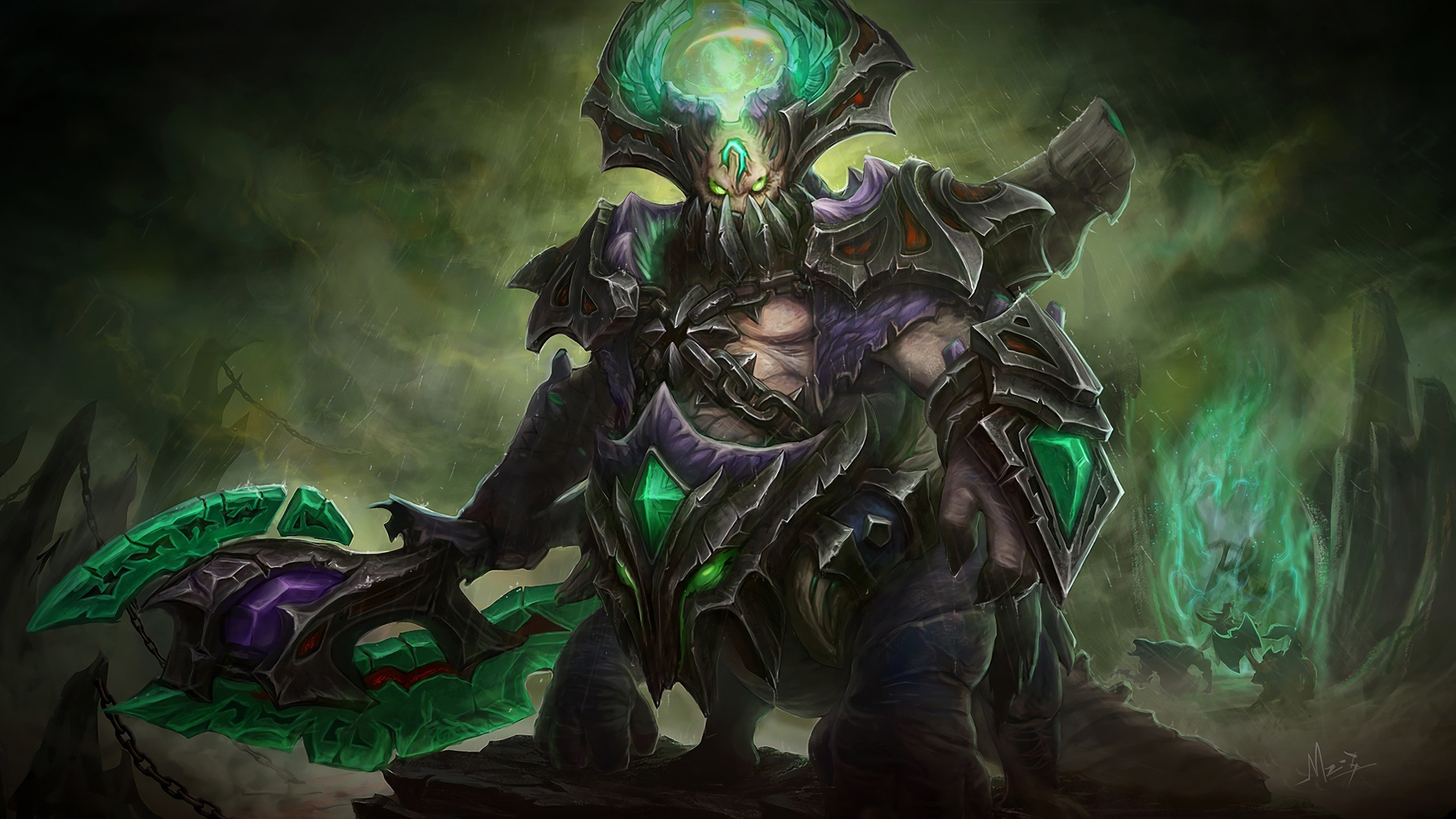 Monkey King Wallpaper (76+ images) Dota 2 Abyssal Underlord