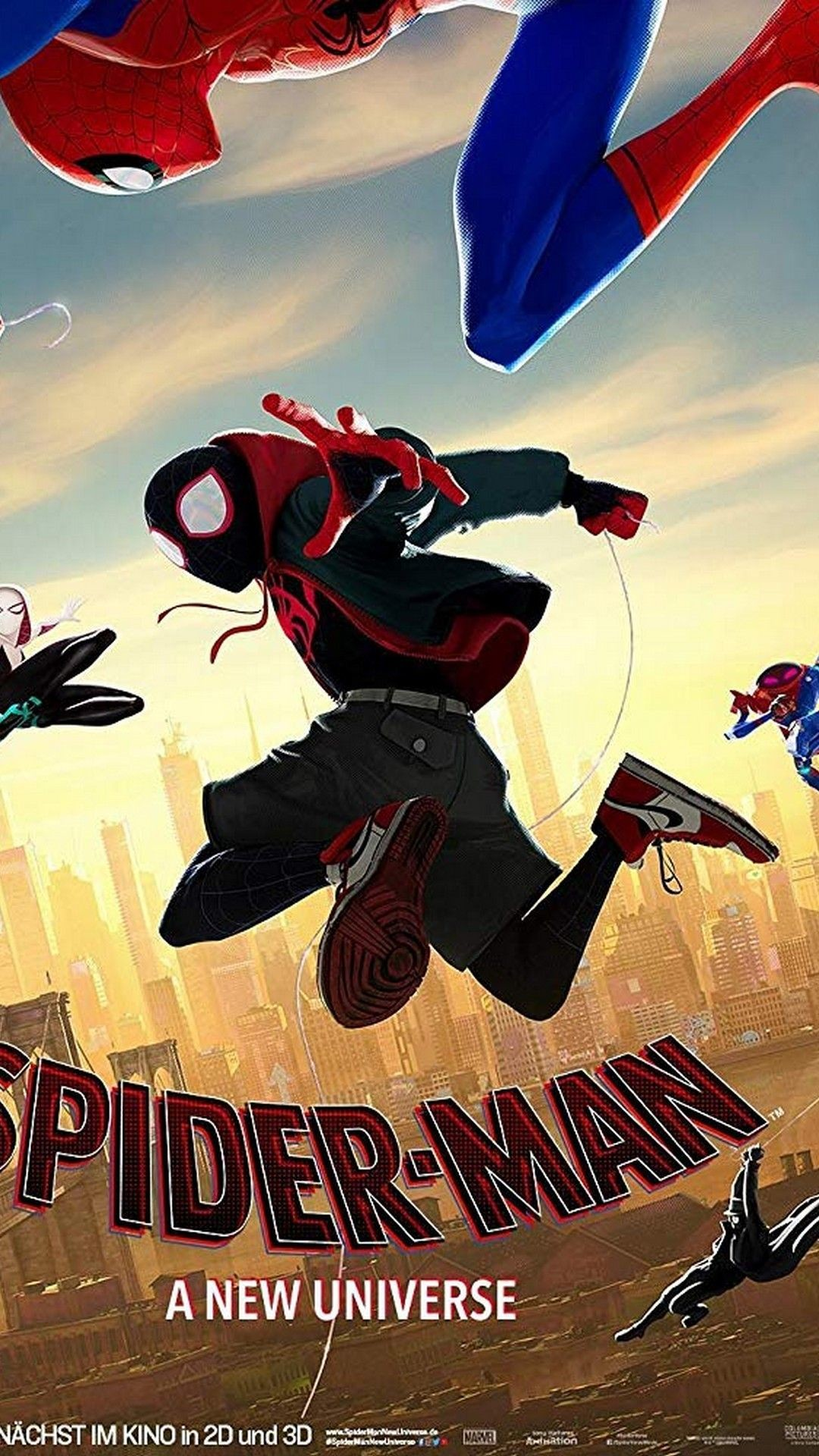1080x1920 Spider Man Into the Spider Verse 2018 Android Wallpaper - Best Mobile  Wallpaper