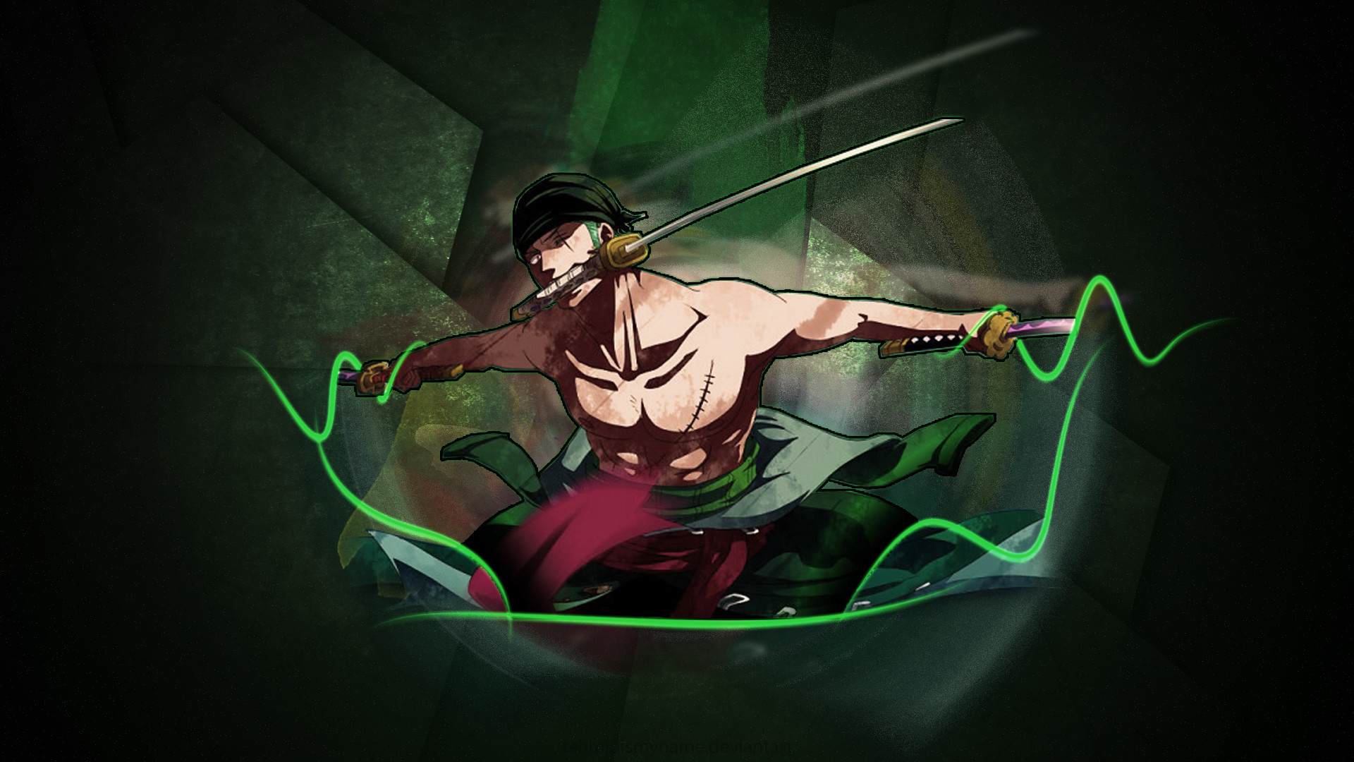1920x1080 Roronoa Zoro Wallpaper HD by Tahmidismyname