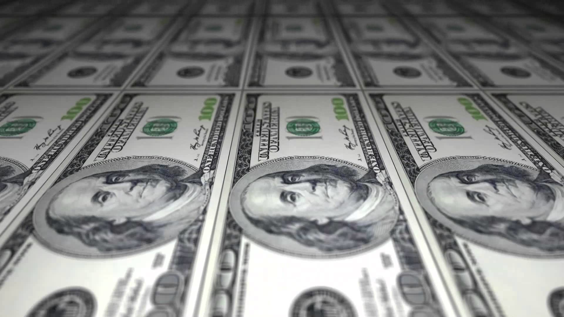 1920x1080 Free Stock Video Download - Printing Dollar Bills - 100 US Dollar Bills -  YouTube
