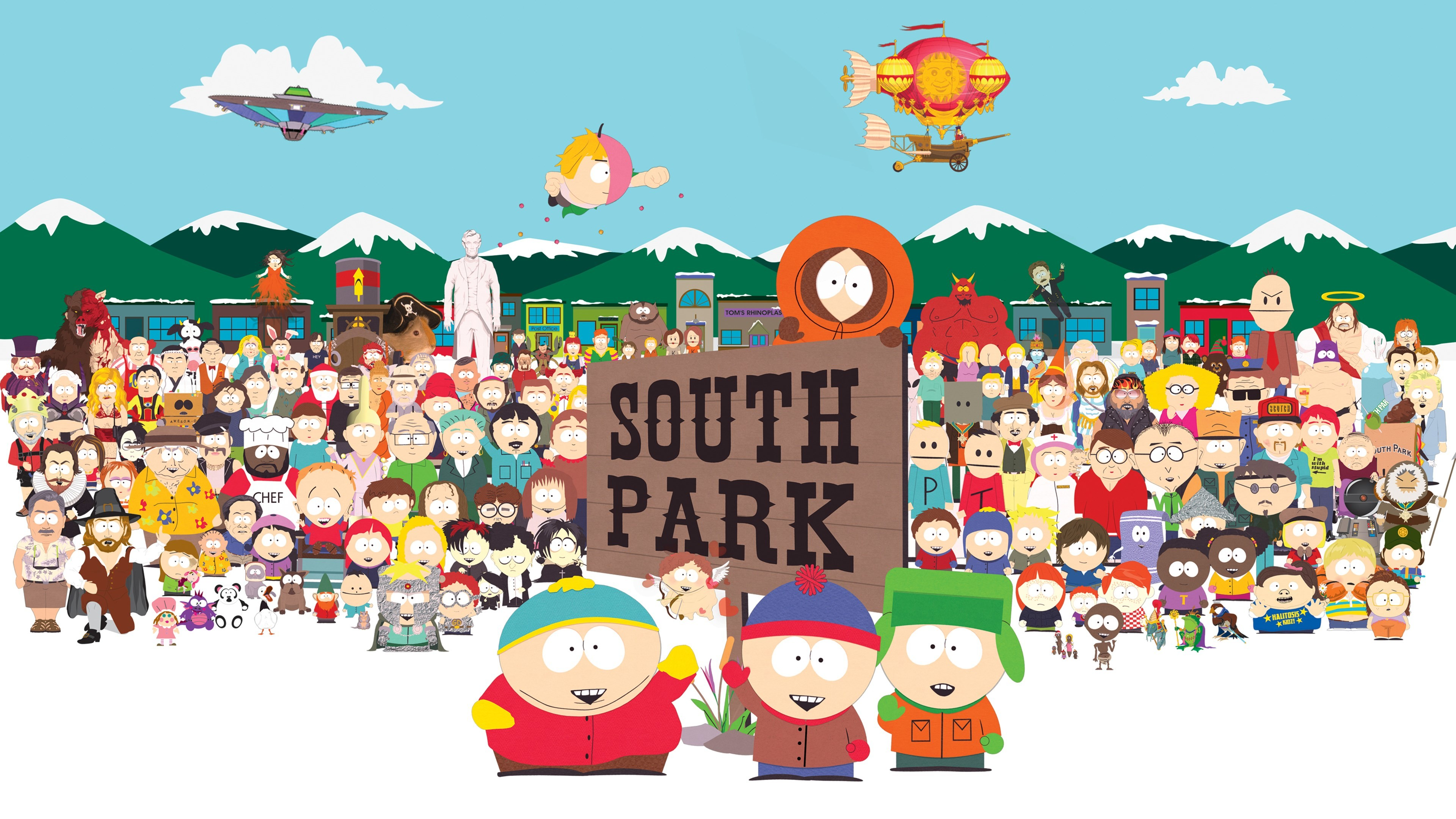 3840x2160 South Park Wallpapers