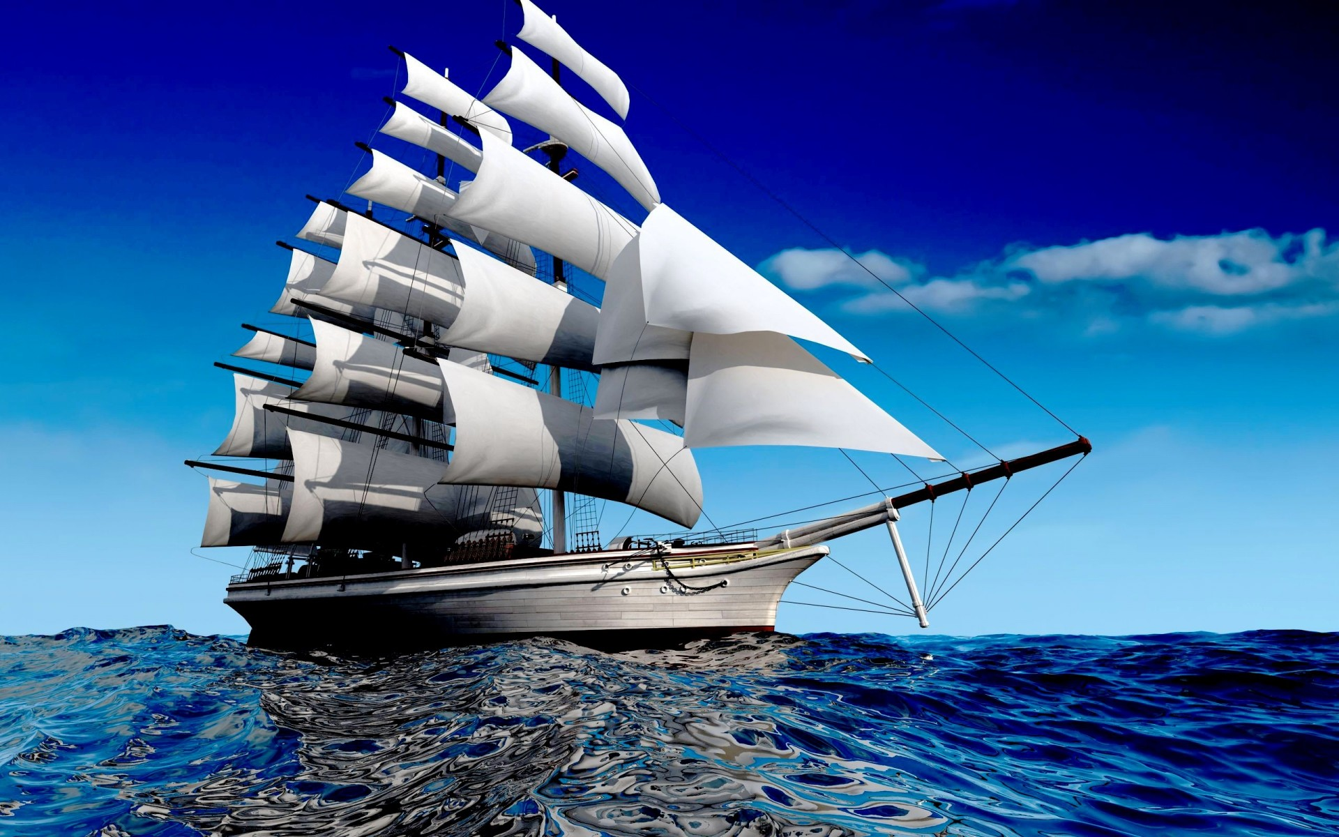 1920x1200 Fantasy Sailing Boat HD Wallpapers in HD | HD Wallpapers | Pinterest | Sailing  boat and Hd wallpaper