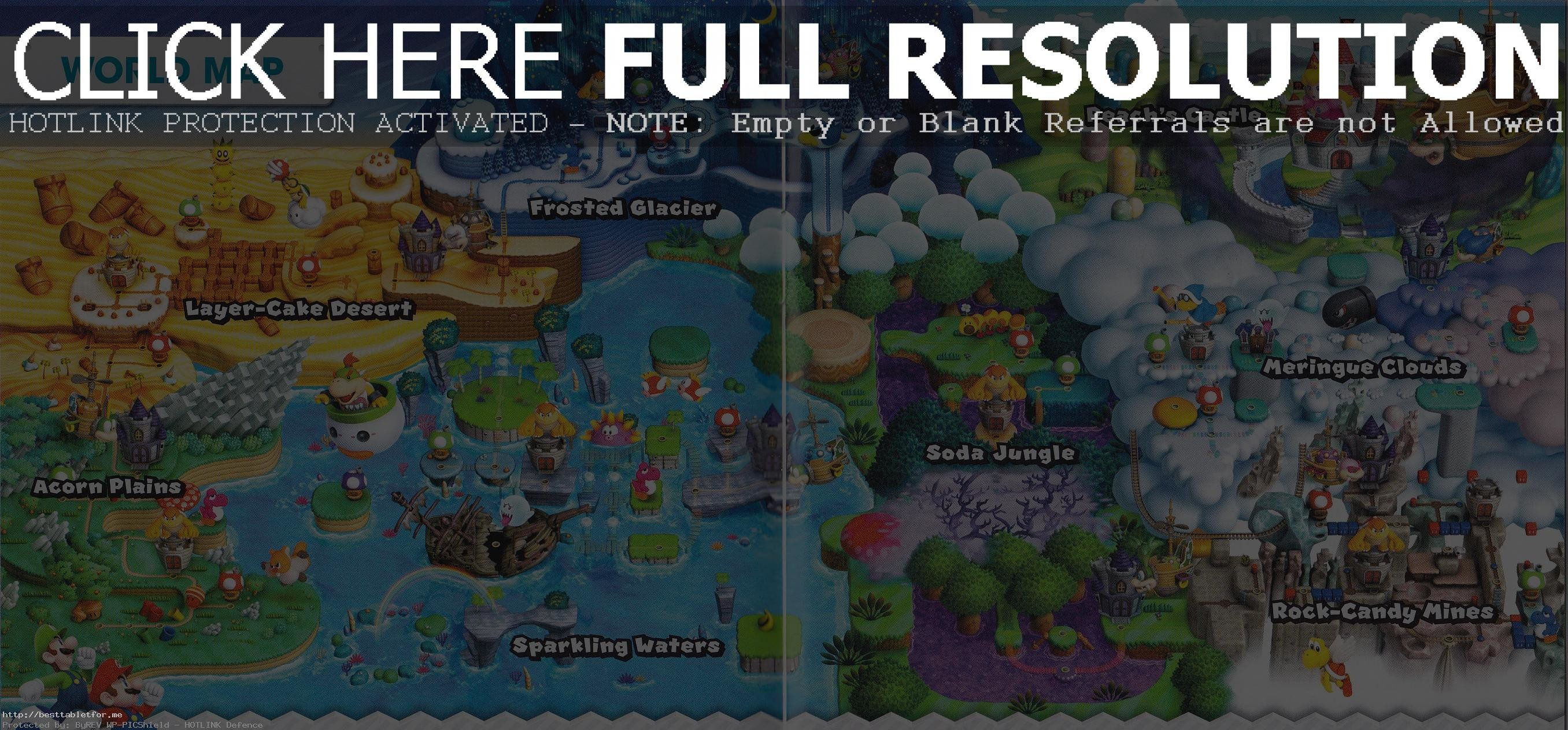 Super Mario World Map Wallpaper (56+ images)