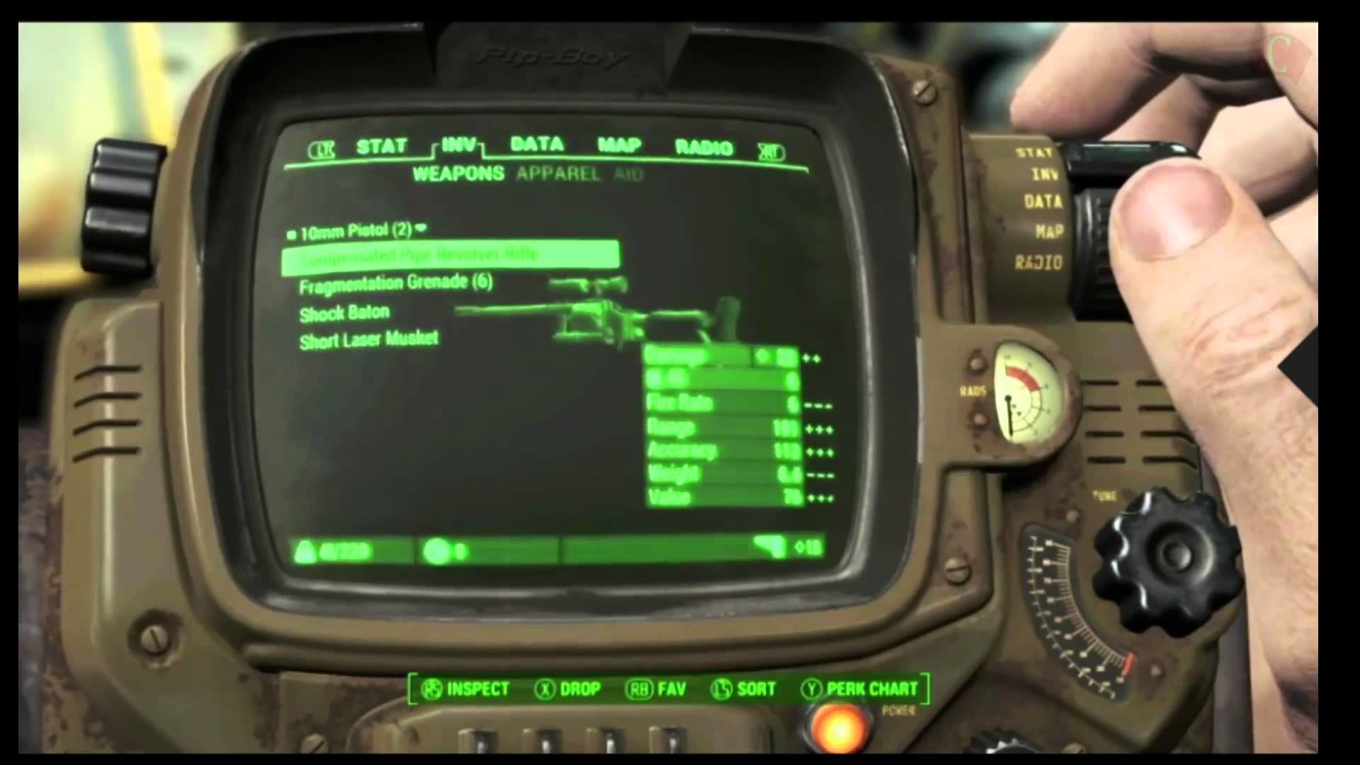 Fallout Pipboy iPhone Wallpaper (77+ images)