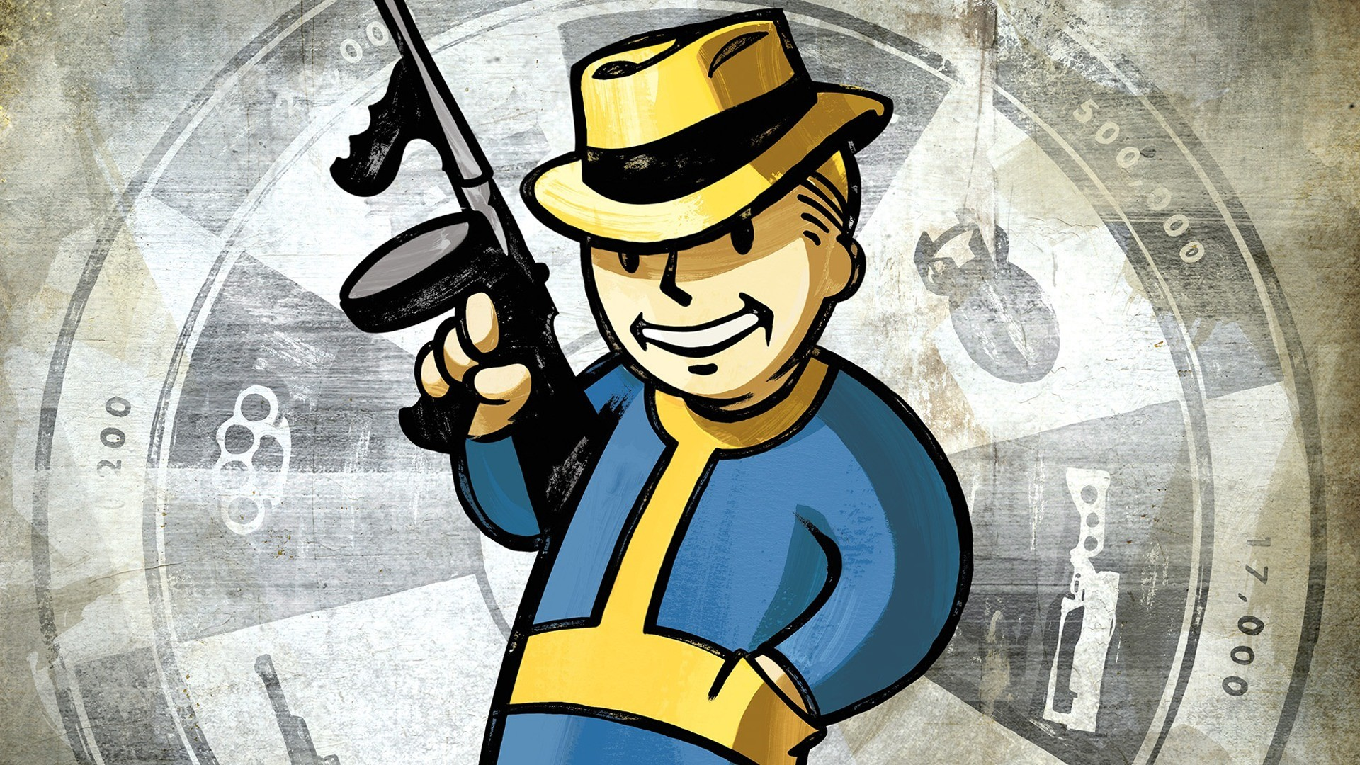 1920x1080 Vault Boy Wallpaper
