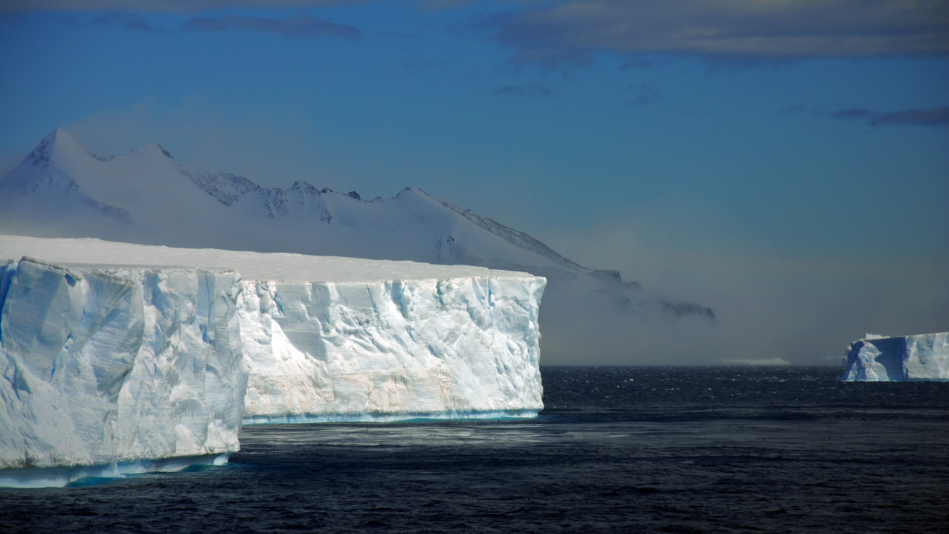 1920x1080 Preview wallpaper icebergs, antarctica, white, blocks, cold, silence,  emptiness