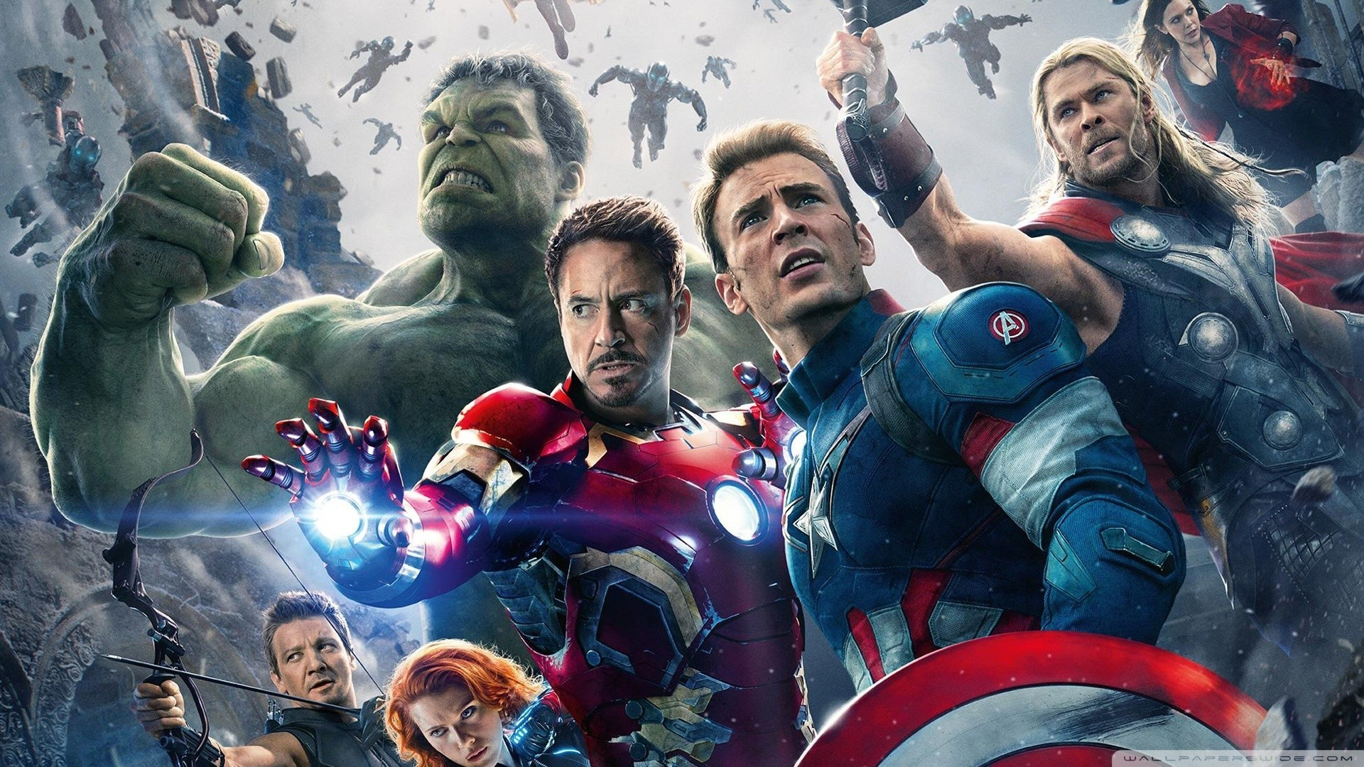 Res: 1920x1080, Marvels Avengers Age of Ultron HD Wide Wallpaper for Widescreen