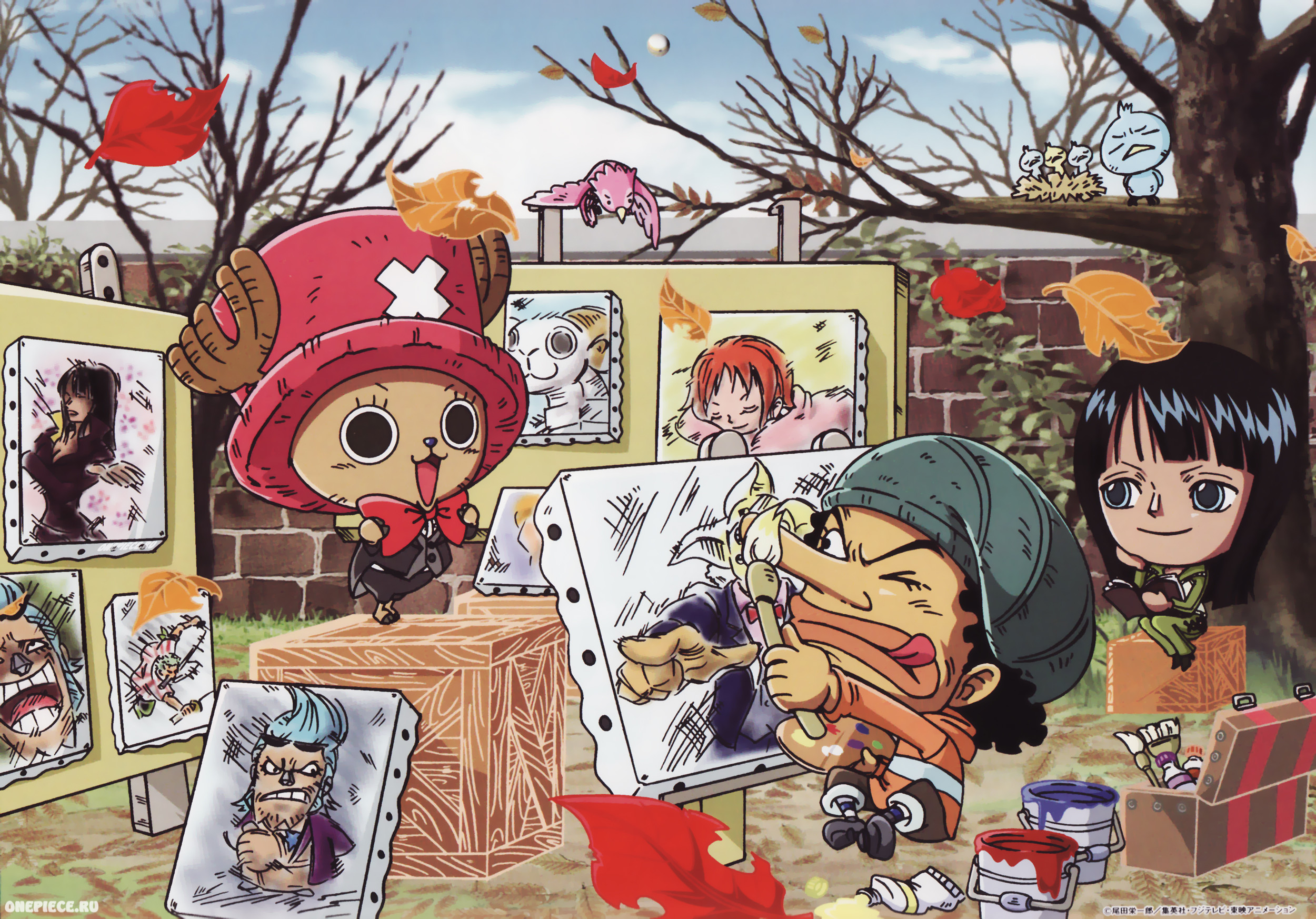 2500x1746 Child's Room, Wall Murals, Kids Rooms, Chopper, Play, One Piece, Pirates,  Chibi, Juste