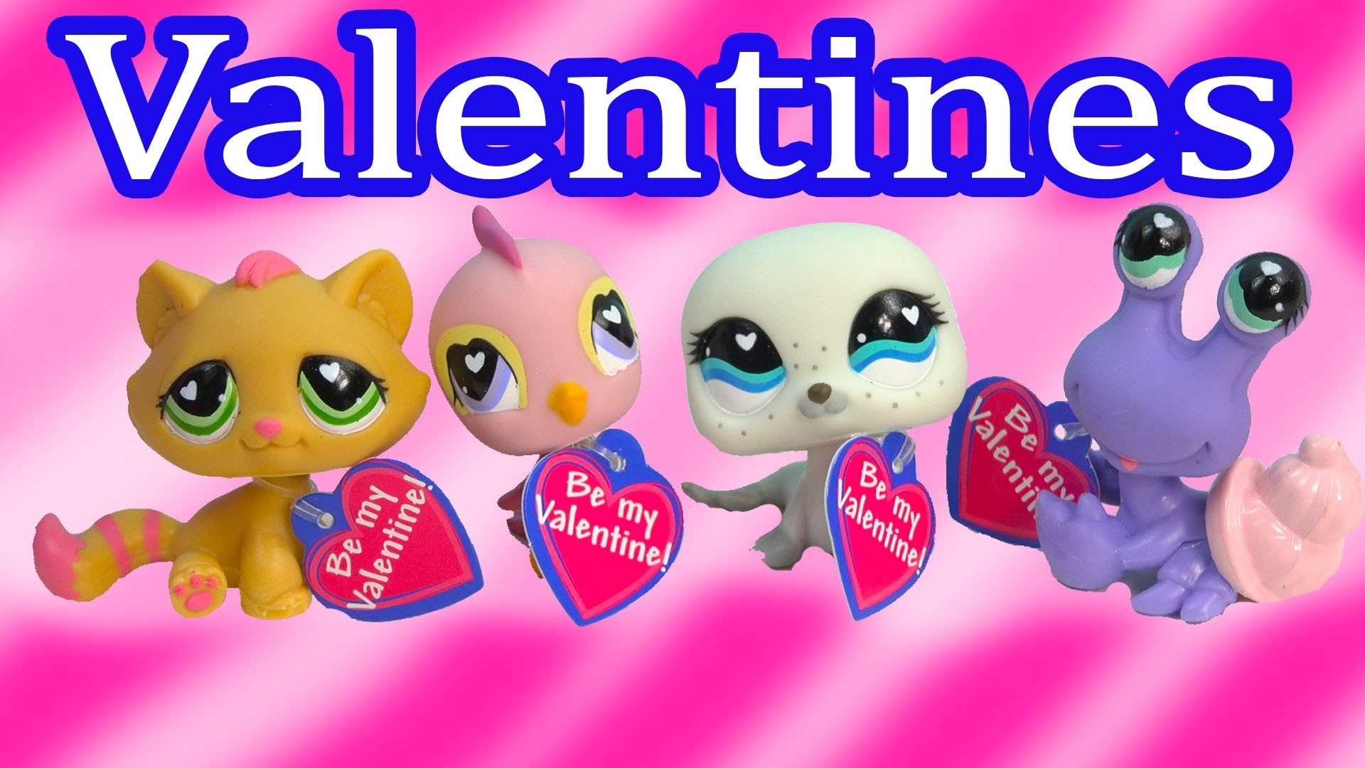 1920x1080 Littlest Pet Shop Bobbleheads Valentines Day Playset LPS Box Set Kitty Bird  Seal Crab Review - YouTube