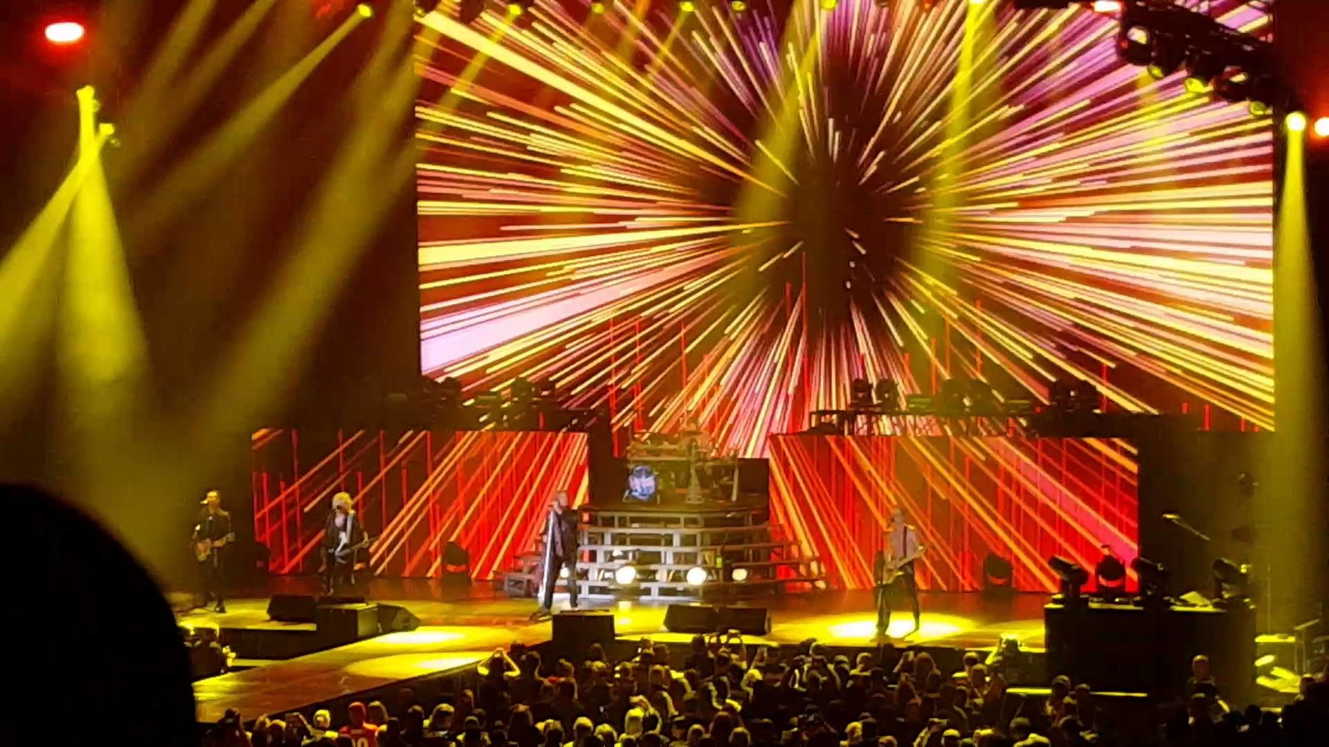 1920x1080 Def Leppard- Let's Go (Live) BB&T Center January 29,. 2016